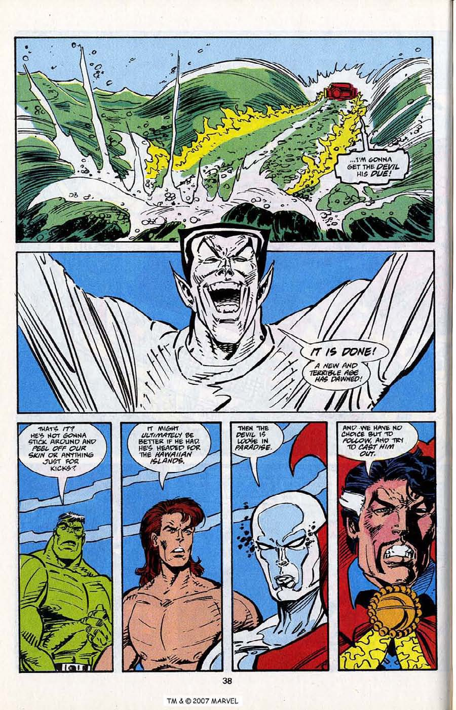 Read online Silver Surfer (1987) comic -  Issue # _Annual 5 - 40