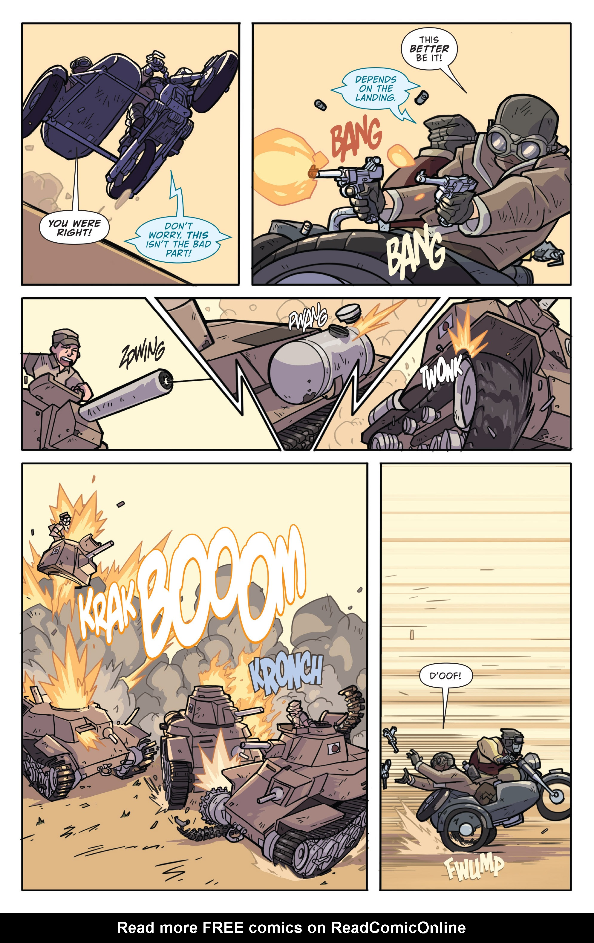 Read online Atomic Robo and the Temple of Od comic -  Issue #1 - 4