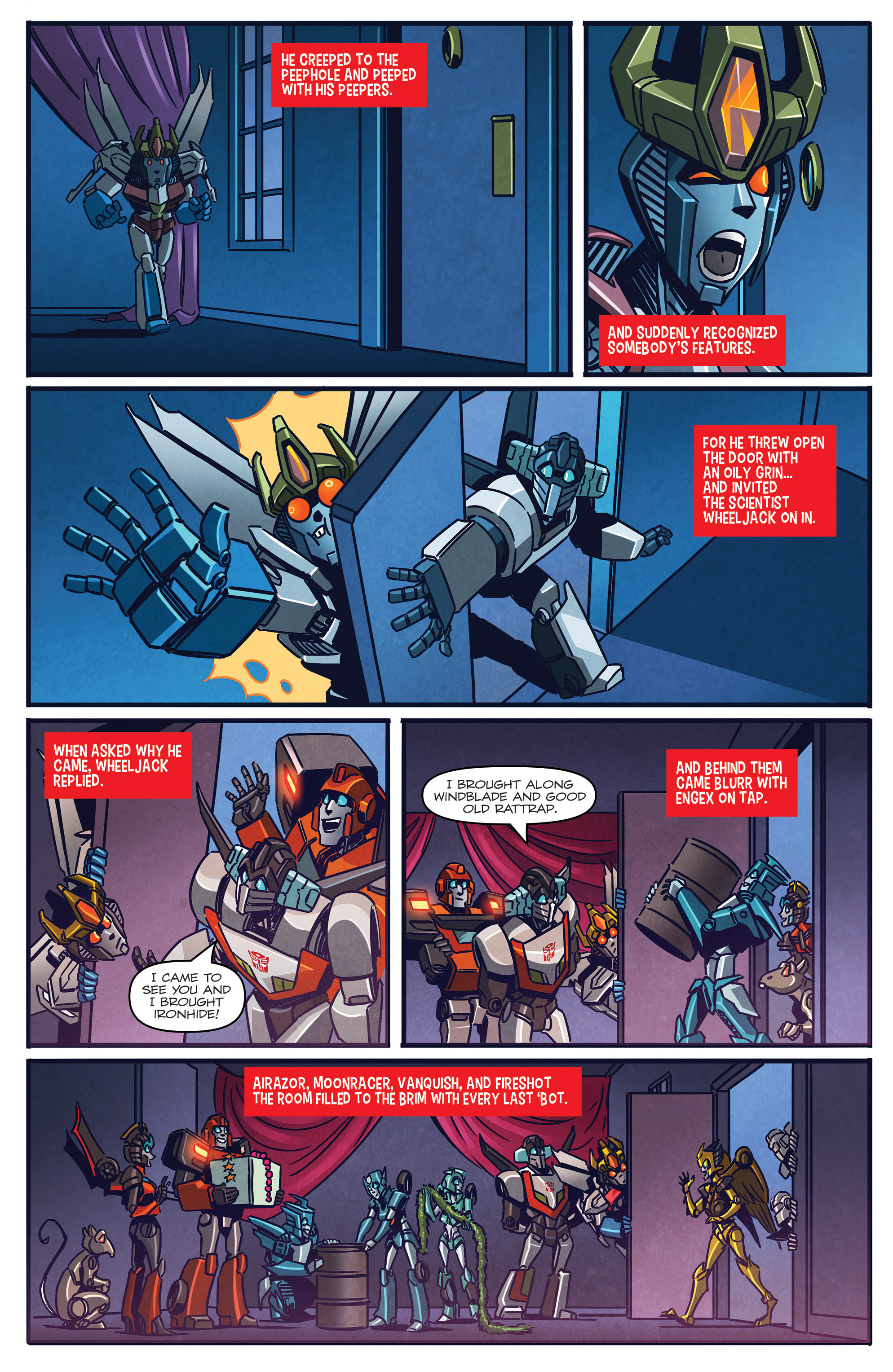 Read online Transformers: Holiday Special comic -  Issue # Full - 11