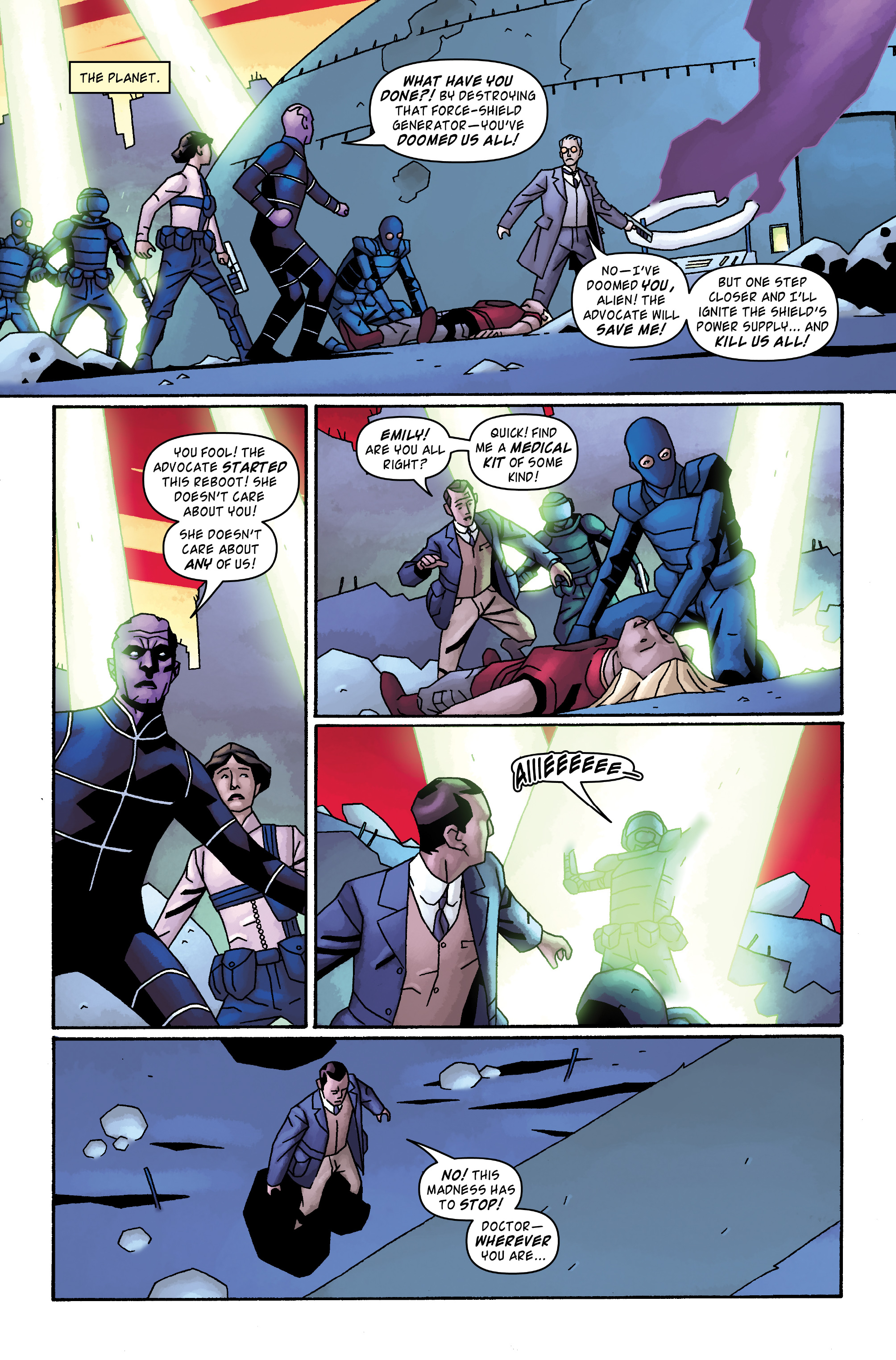 Read online Doctor Who: The Tenth Doctor Archives comic -  Issue #34 - 3