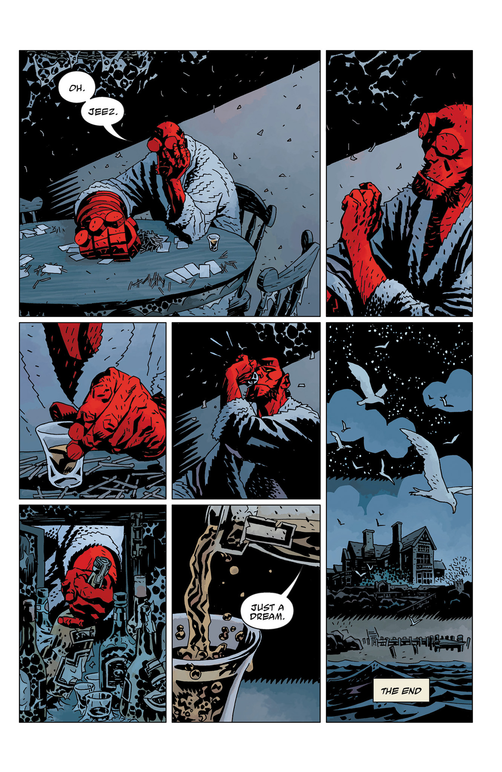 Read online Hellboy: The Crooked Man and Others comic -  Issue # TPB - 143