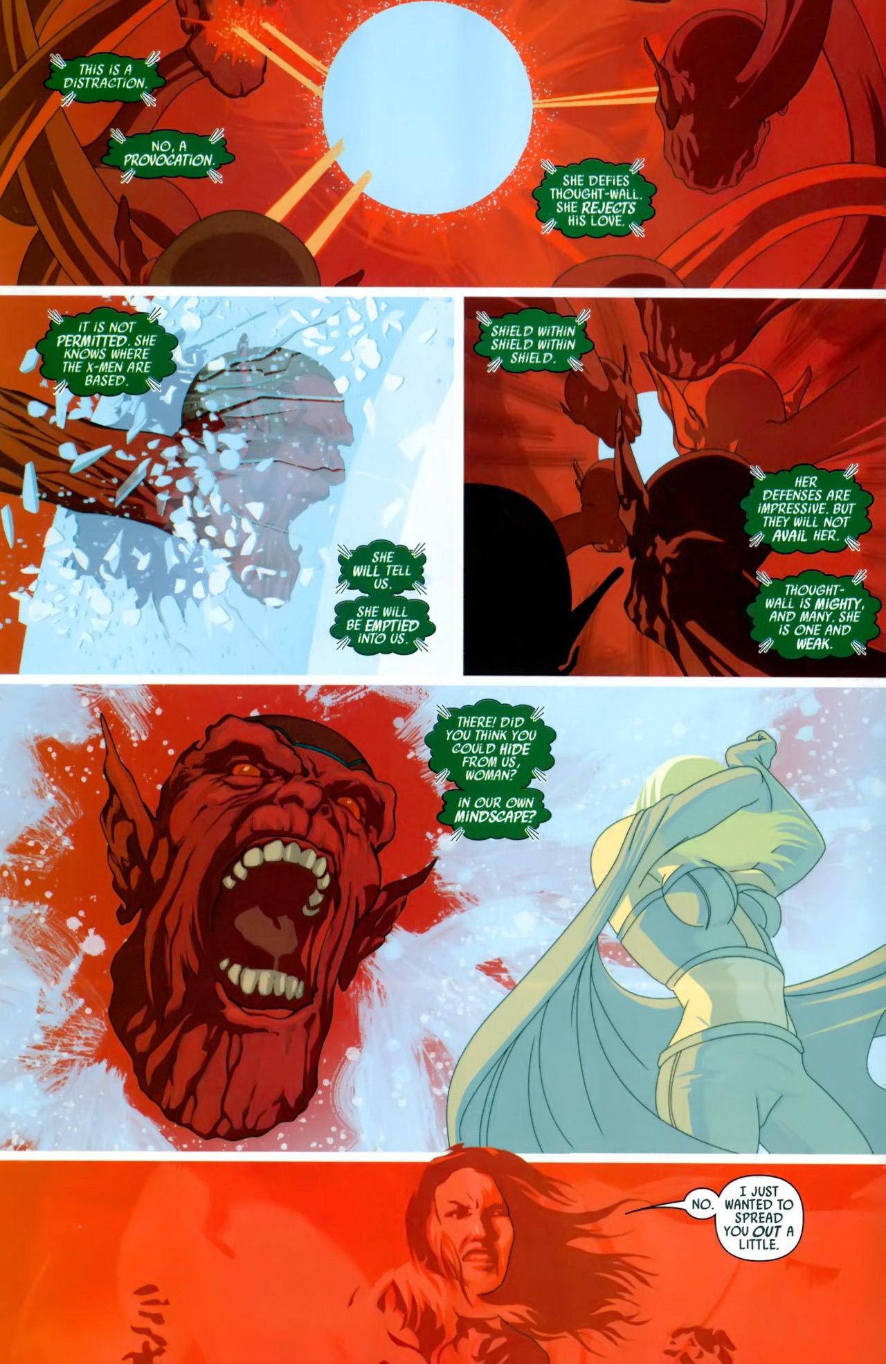 Read online Secret Invasion: X-Men comic -  Issue #3 - 7