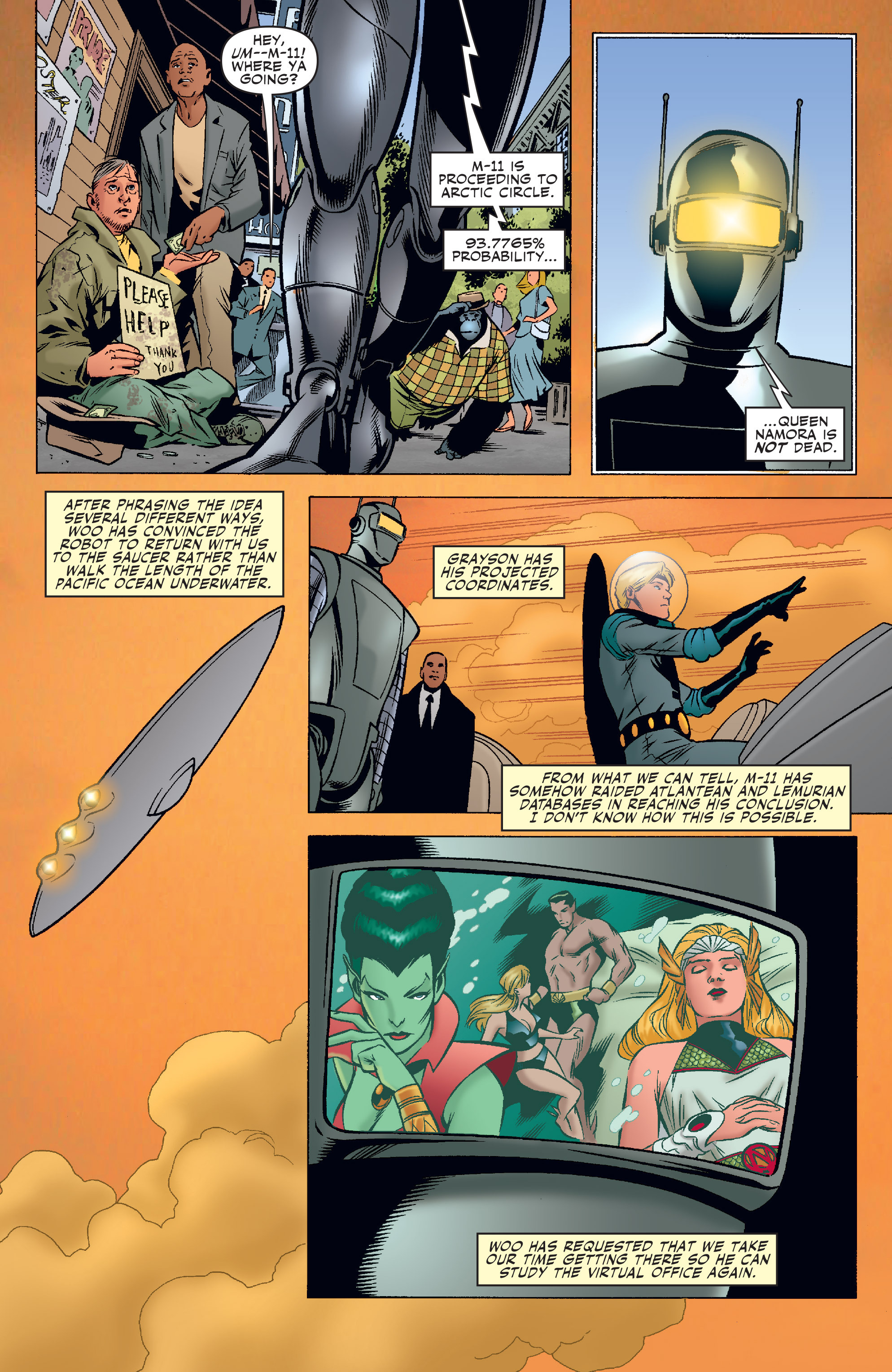 Read online Agents Of Atlas (2006) comic -  Issue #3 - 15