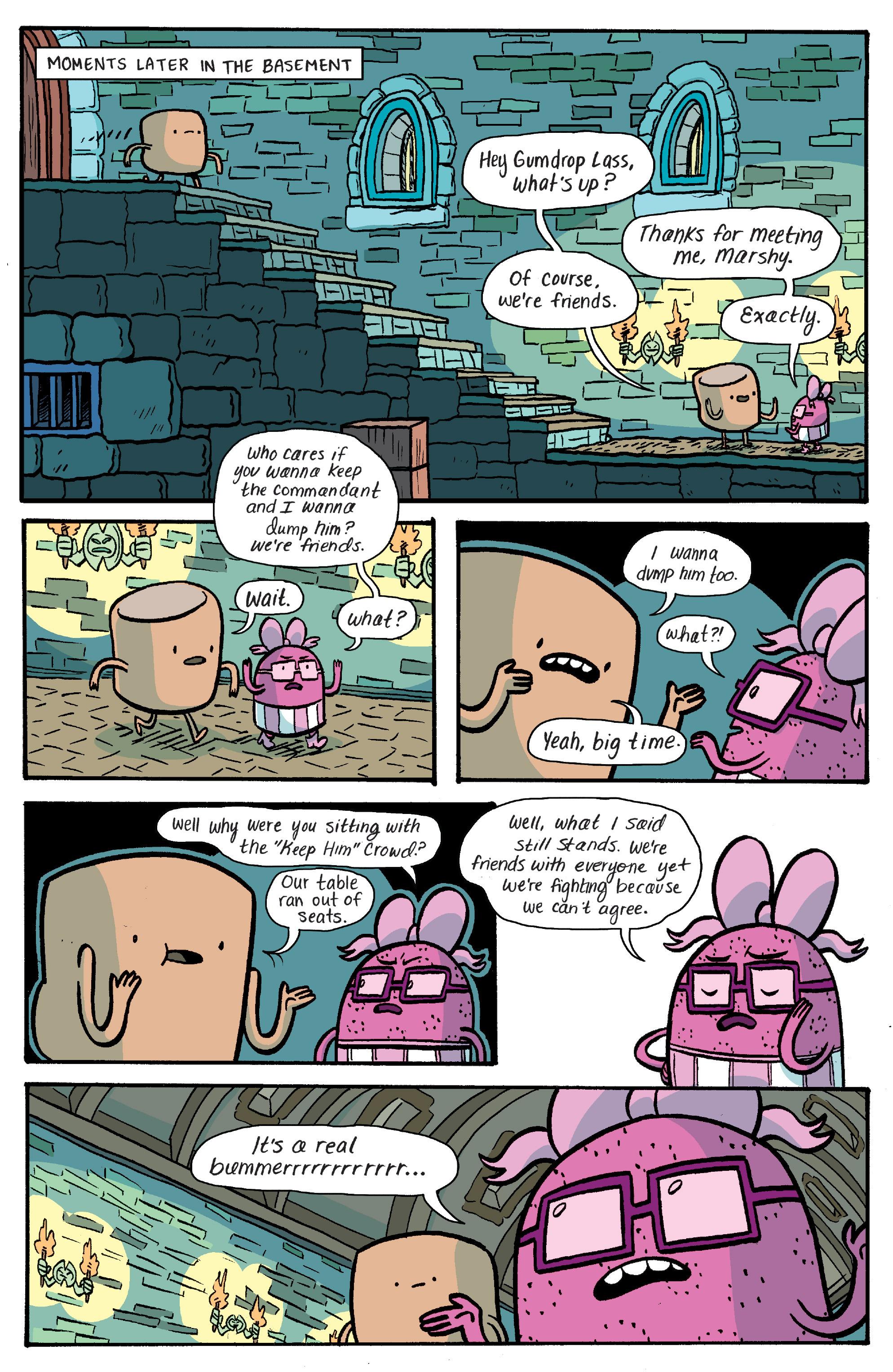 Read online Adventure Time: Banana Guard Academ comic -  Issue #4 - 18