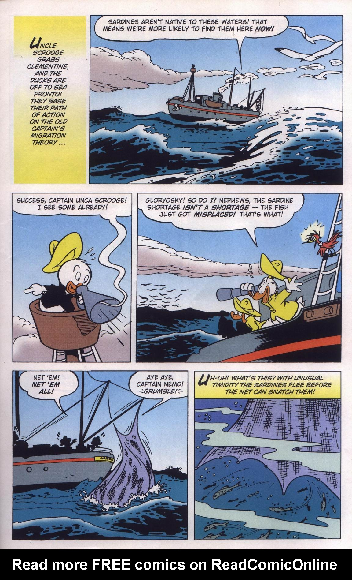 Read online Uncle Scrooge (1953) comic -  Issue #315 - 29