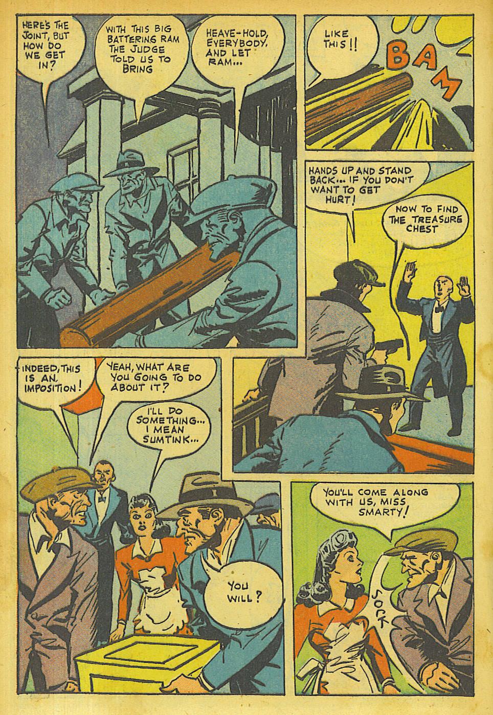 Read online Shadow Comics comic -  Issue #63 - 6