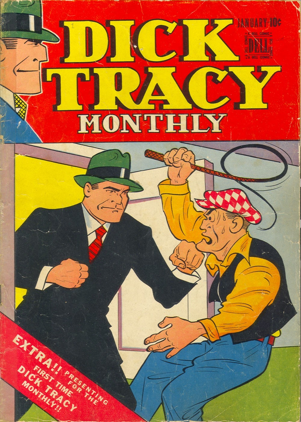 Dick Tracy Monthly 1 Page 1