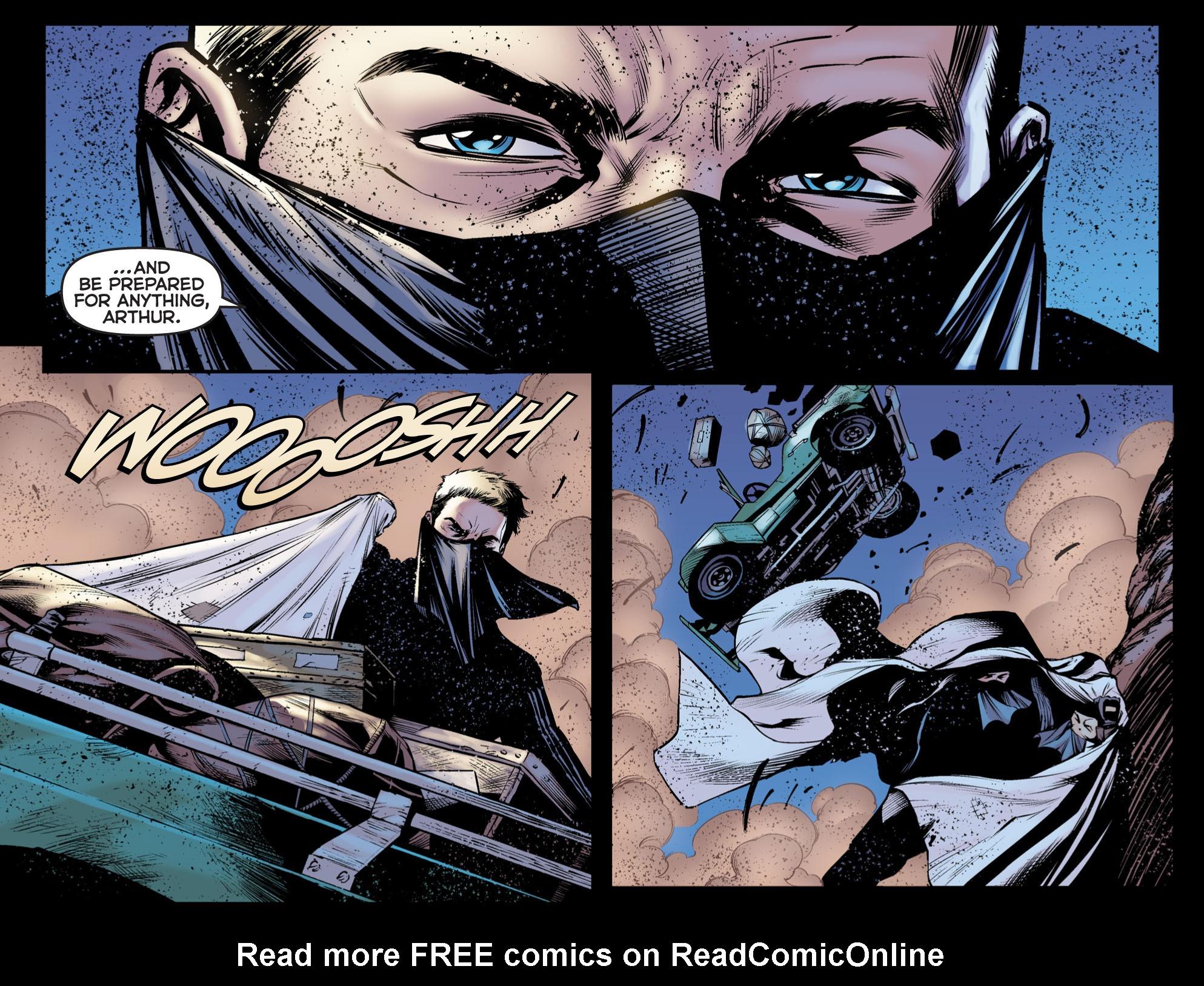 Read online Arrow: The Dark Archer comic -  Issue #5 - 8
