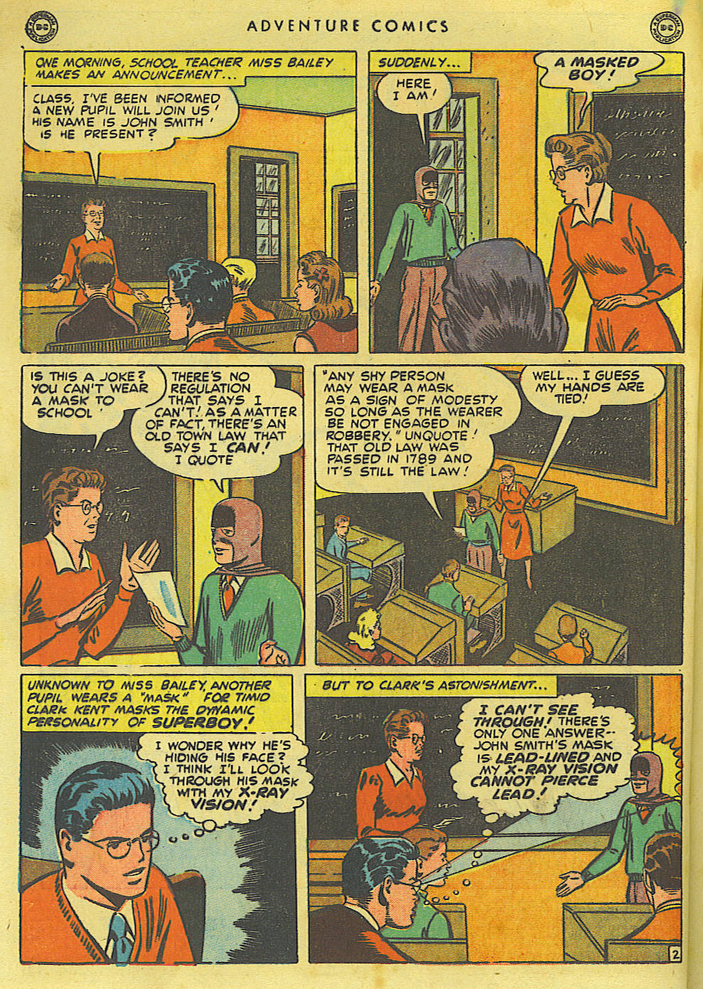Read online Adventure Comics (1938) comic -  Issue #135 - 4