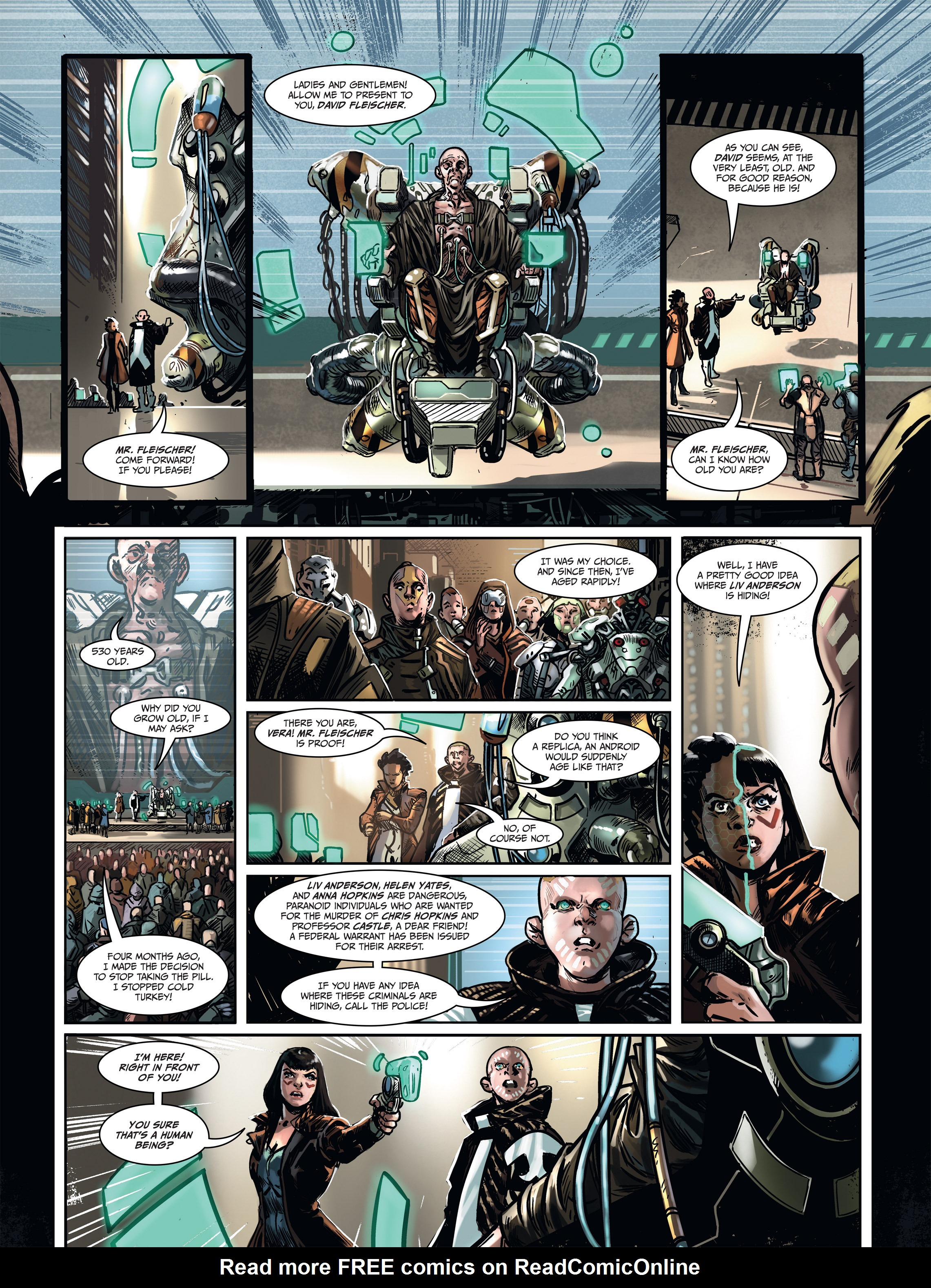 Read online Androïds comic -  Issue #1 - 58