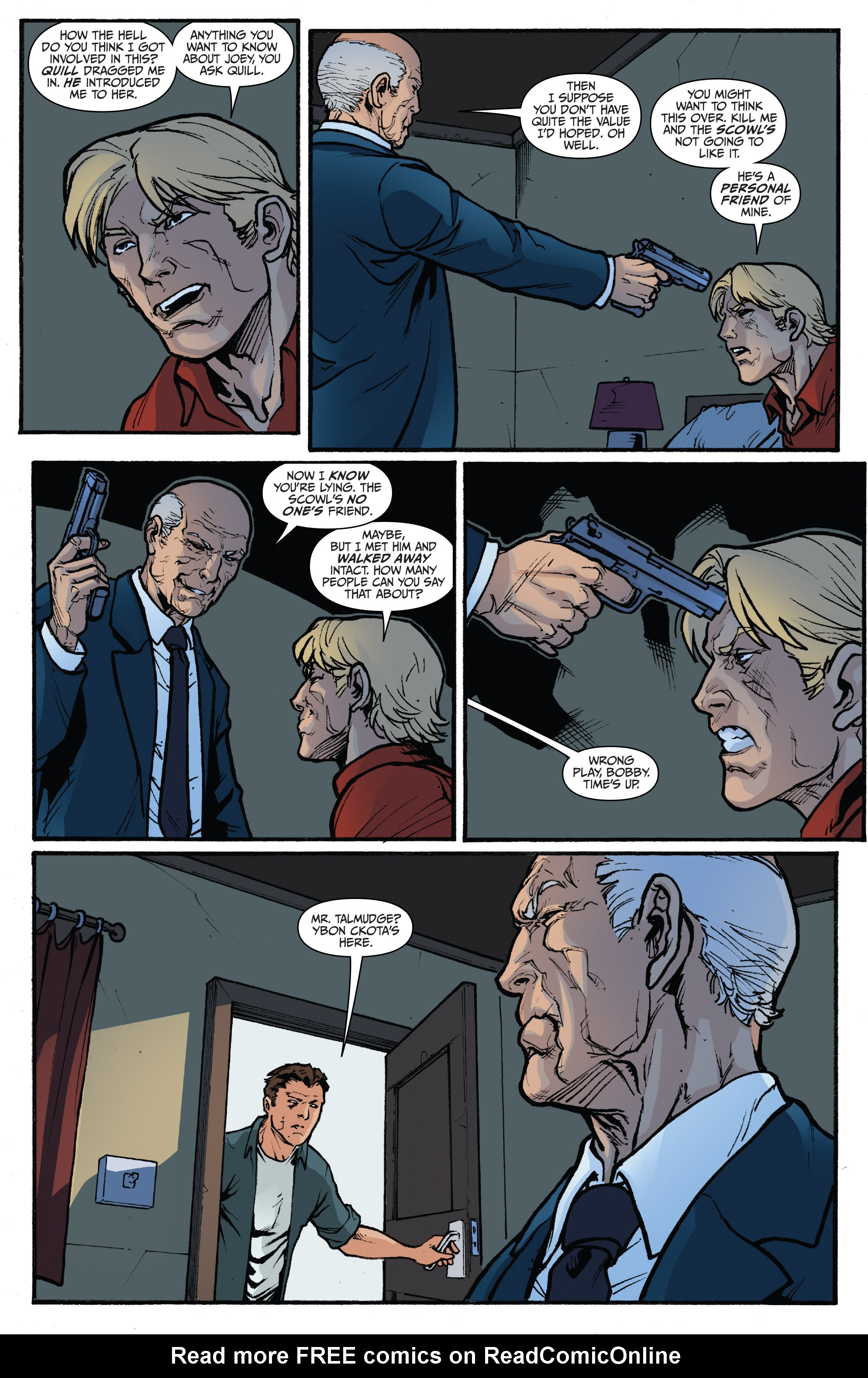 Read online 3 Guns comic -  Issue #4 - 23