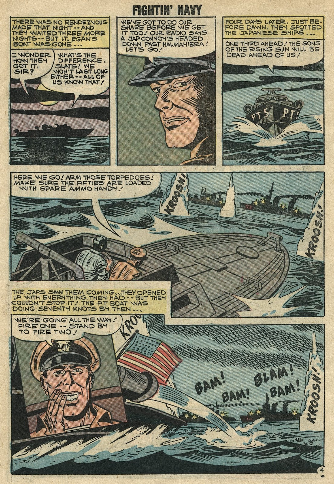 Read online Fightin' Navy comic -  Issue #86 - 18