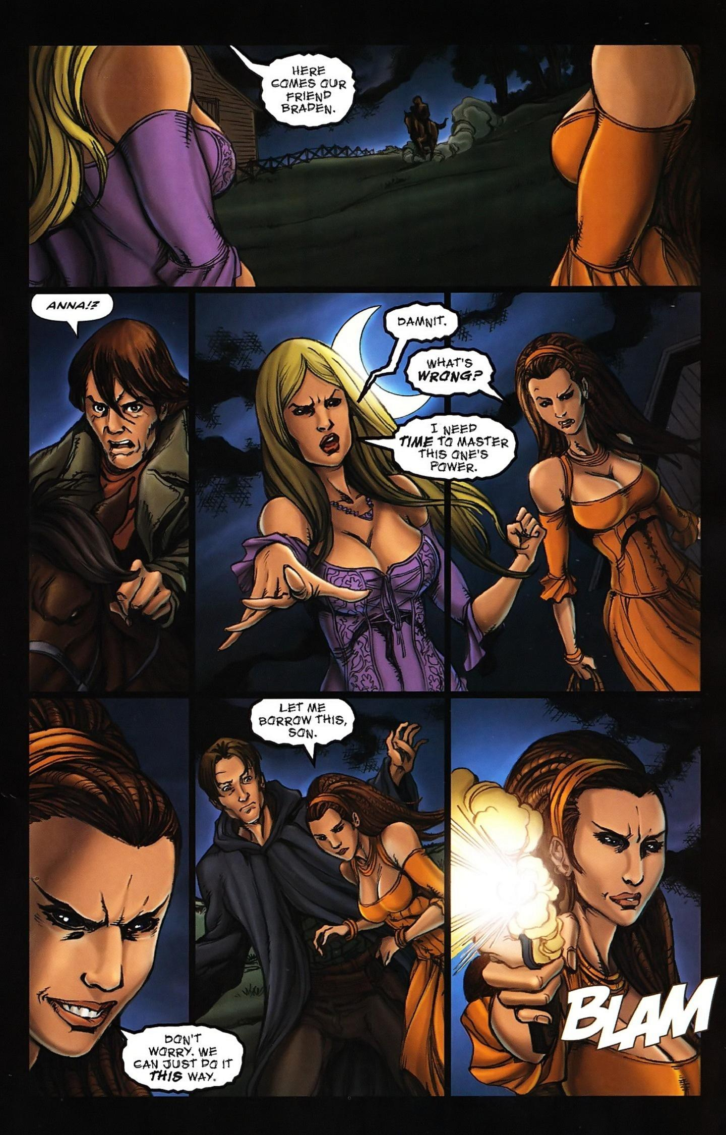 Read online Salem's Daughter: The Haunting comic -  Issue #5 - 19