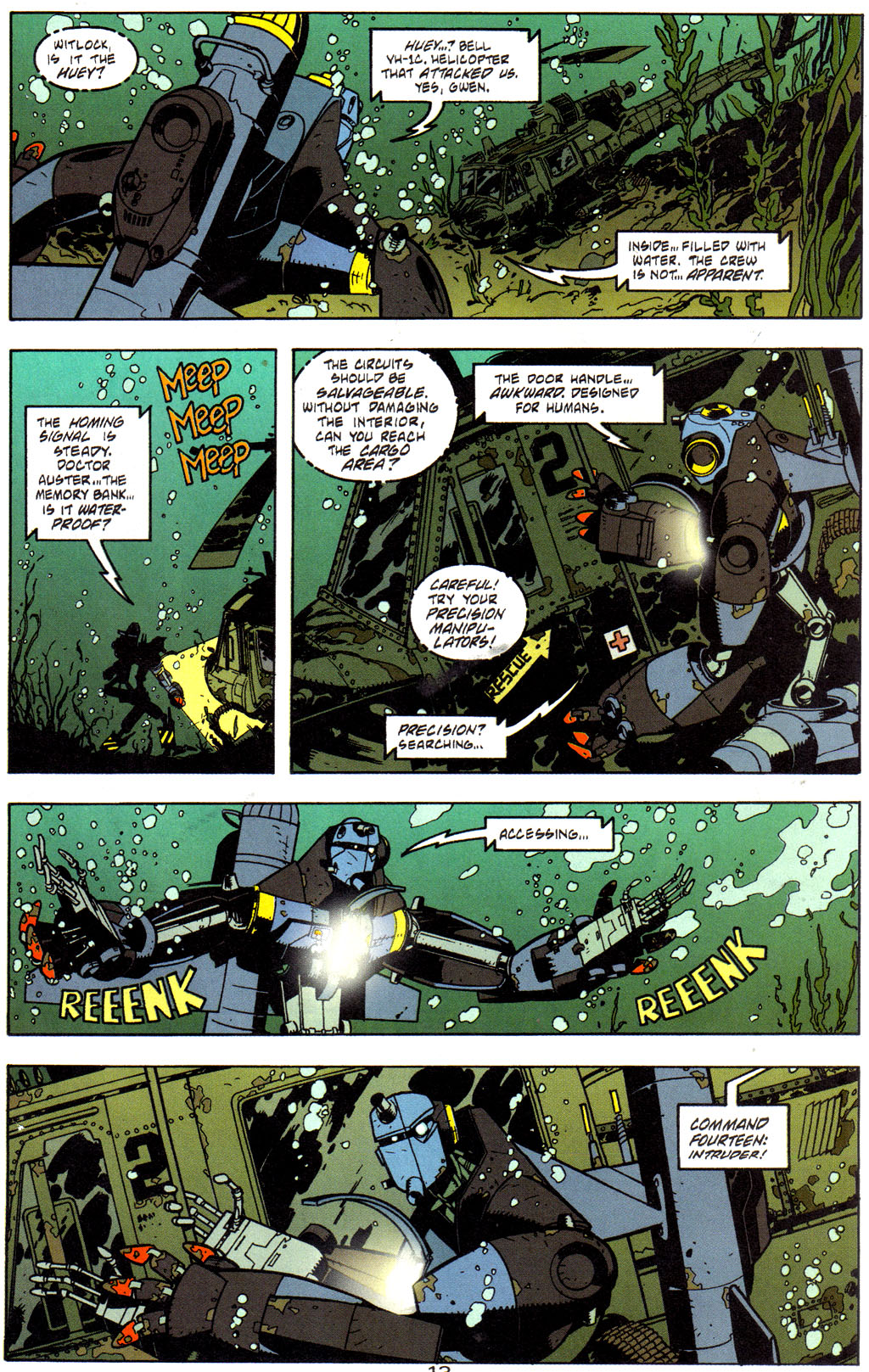 Read online Trouble Magnet comic -  Issue #2 - 14