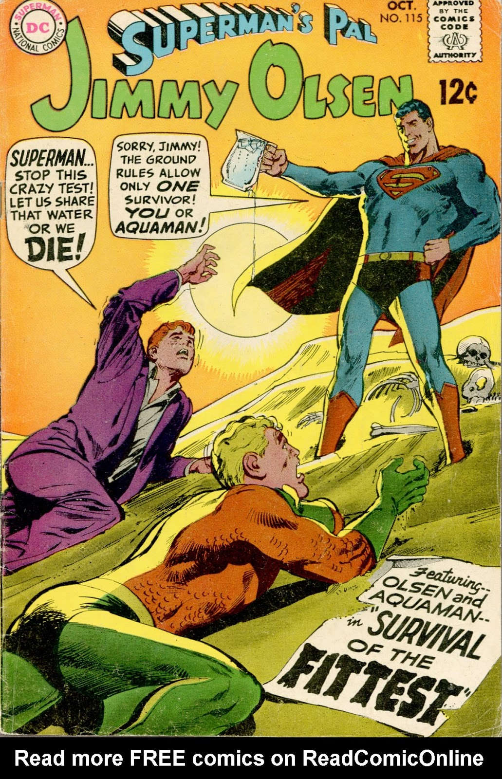 Supermans Pal Jimmy Olsen (1954) 115 Page 1