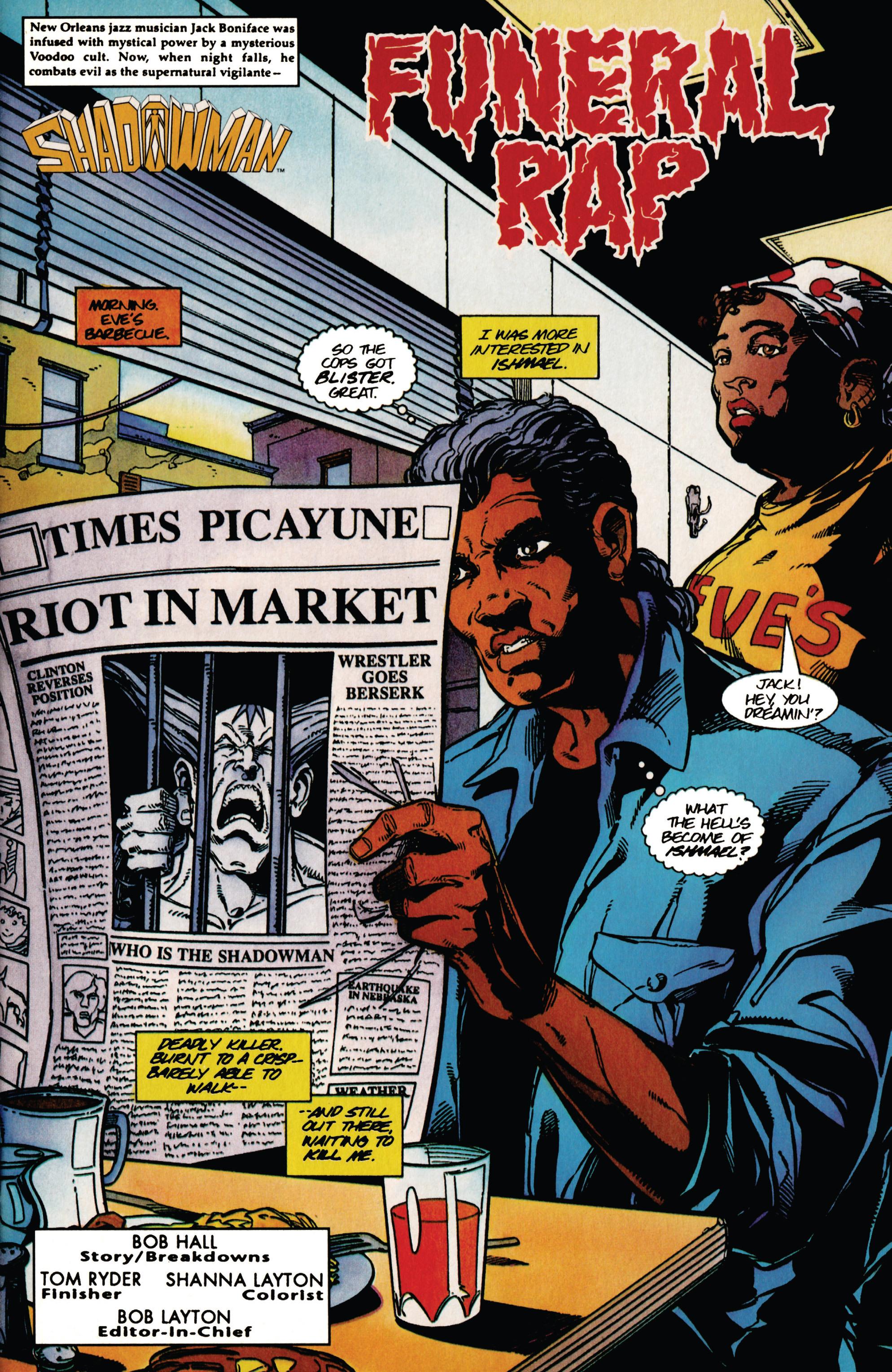Read online Shadowman (1992) comic -  Issue #39 - 4