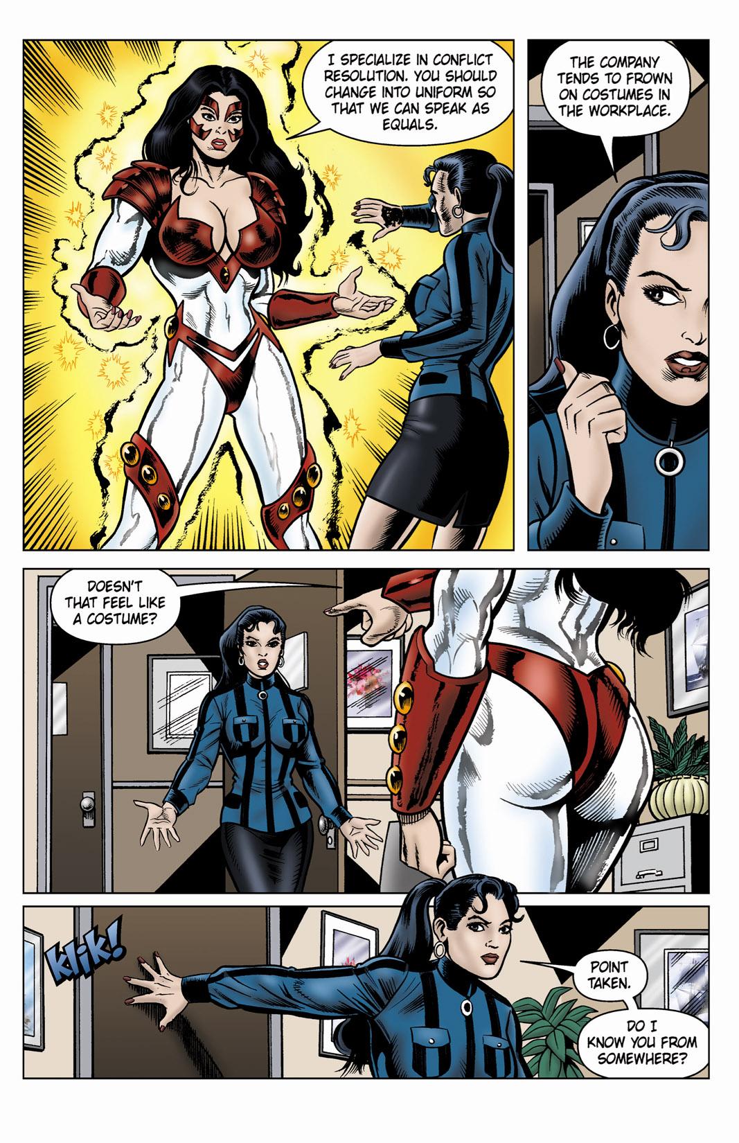 Read online SideChicks comic -  Issue #4 - 5