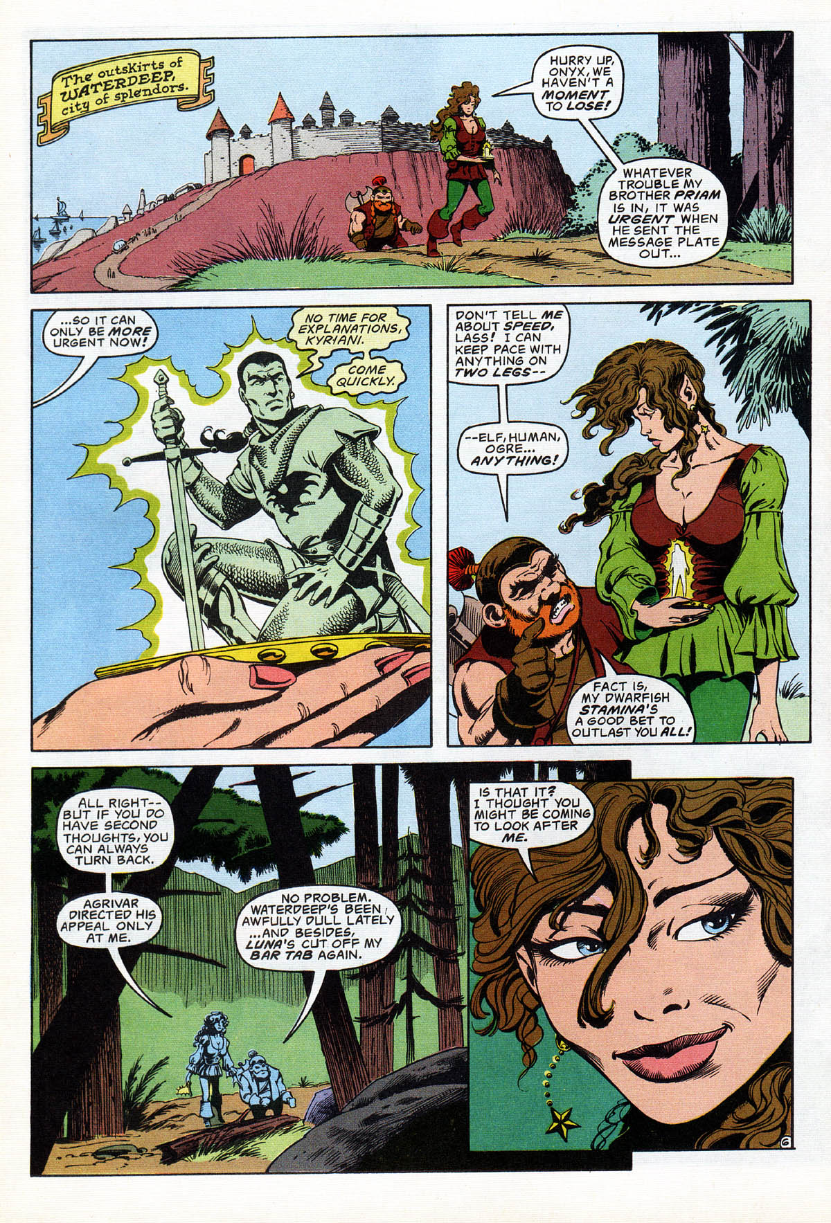 Read online Advanced Dungeons & Dragons comic -  Issue #17 - 7