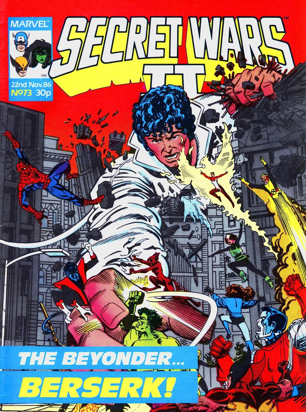 Secret Wars (1985) issue 73 - Page 1
