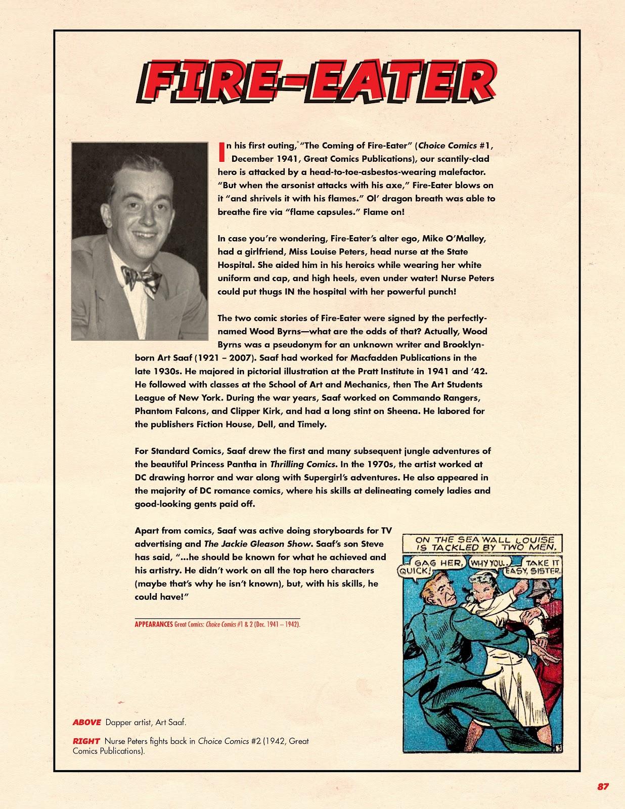 Read online Super Weird Heroes comic -  Issue # TPB 2 (Part 1) - 87