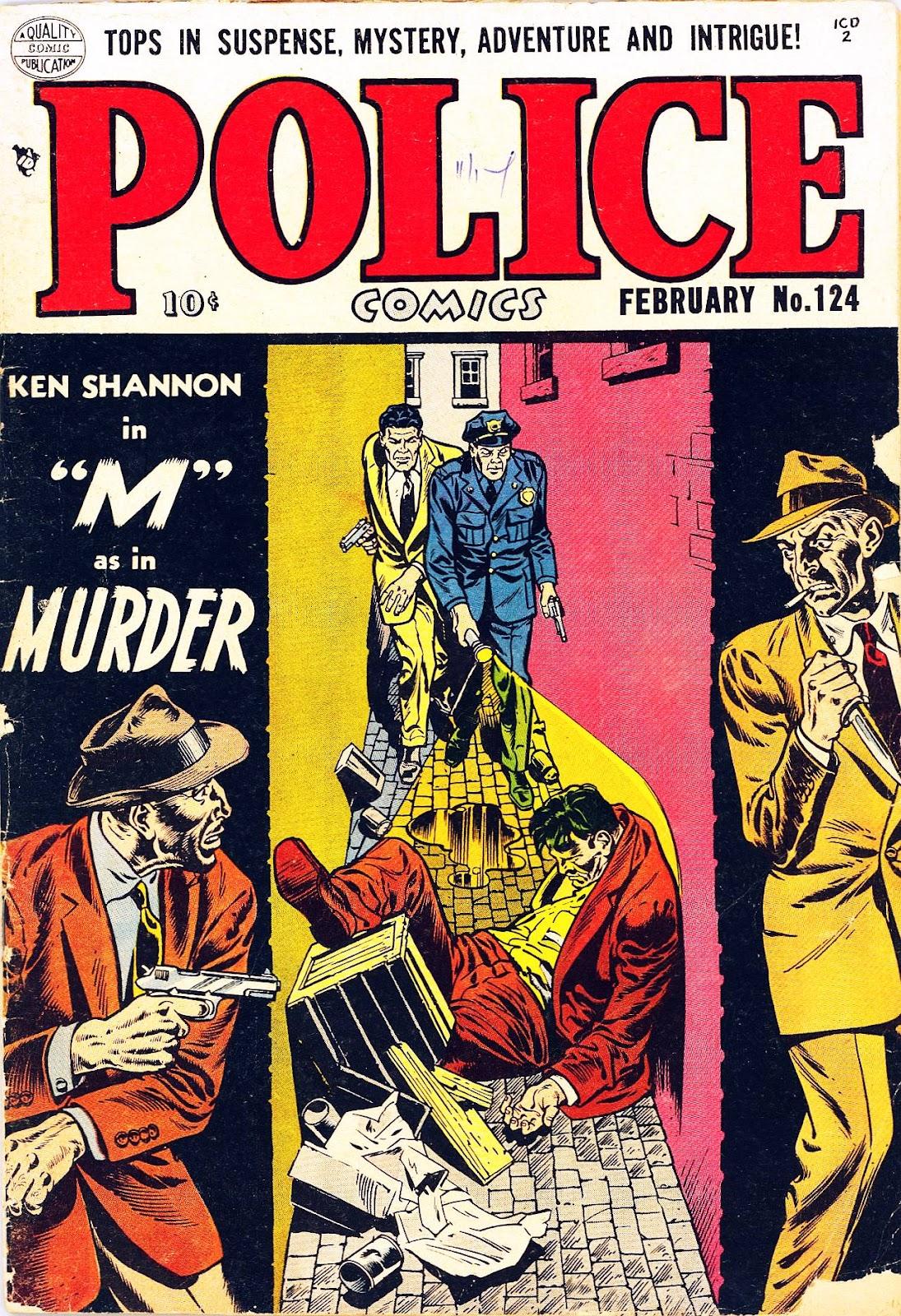 Police Comics 124 Page 1