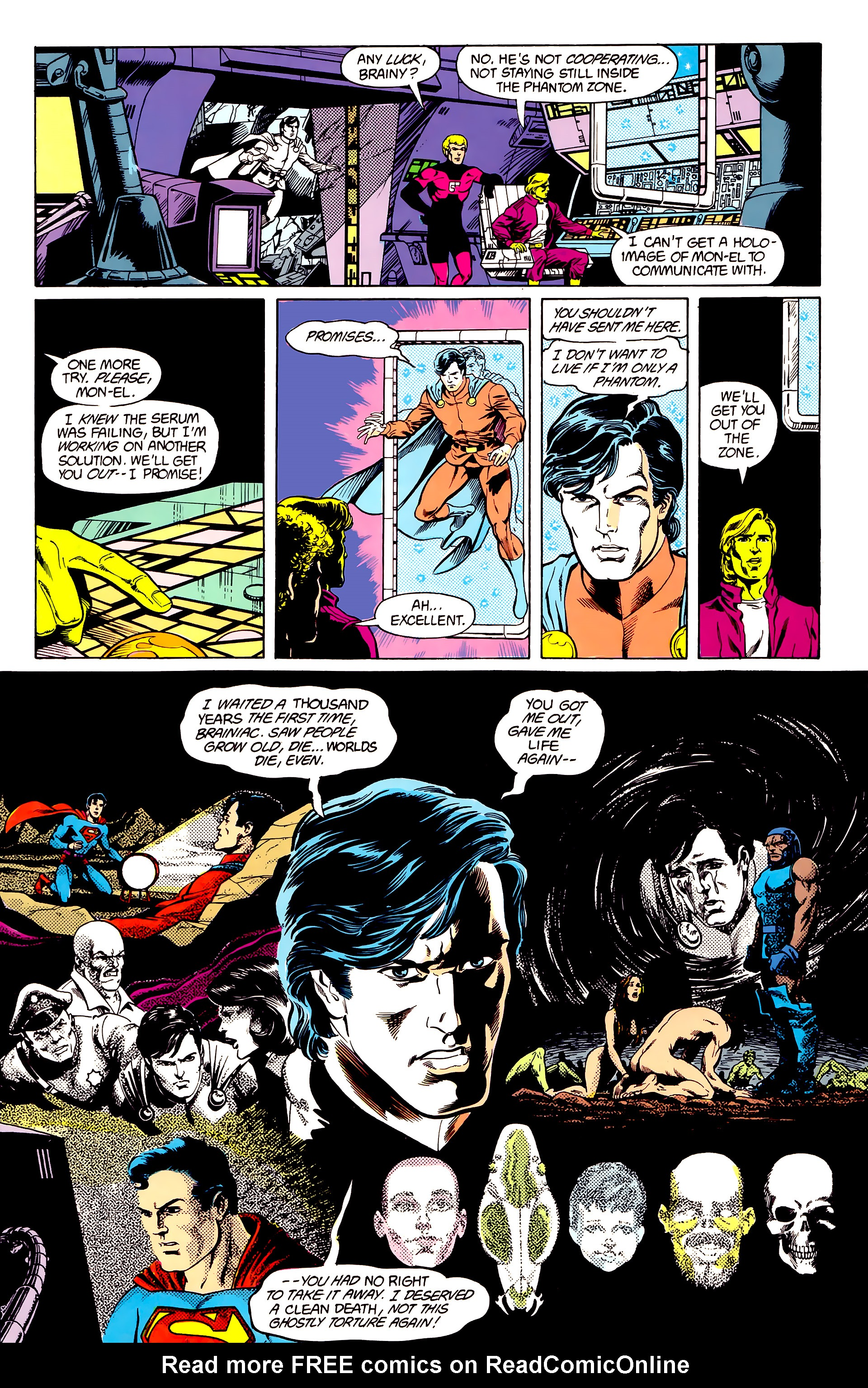 Legion of Super-Heroes (1984) 23 Page 10