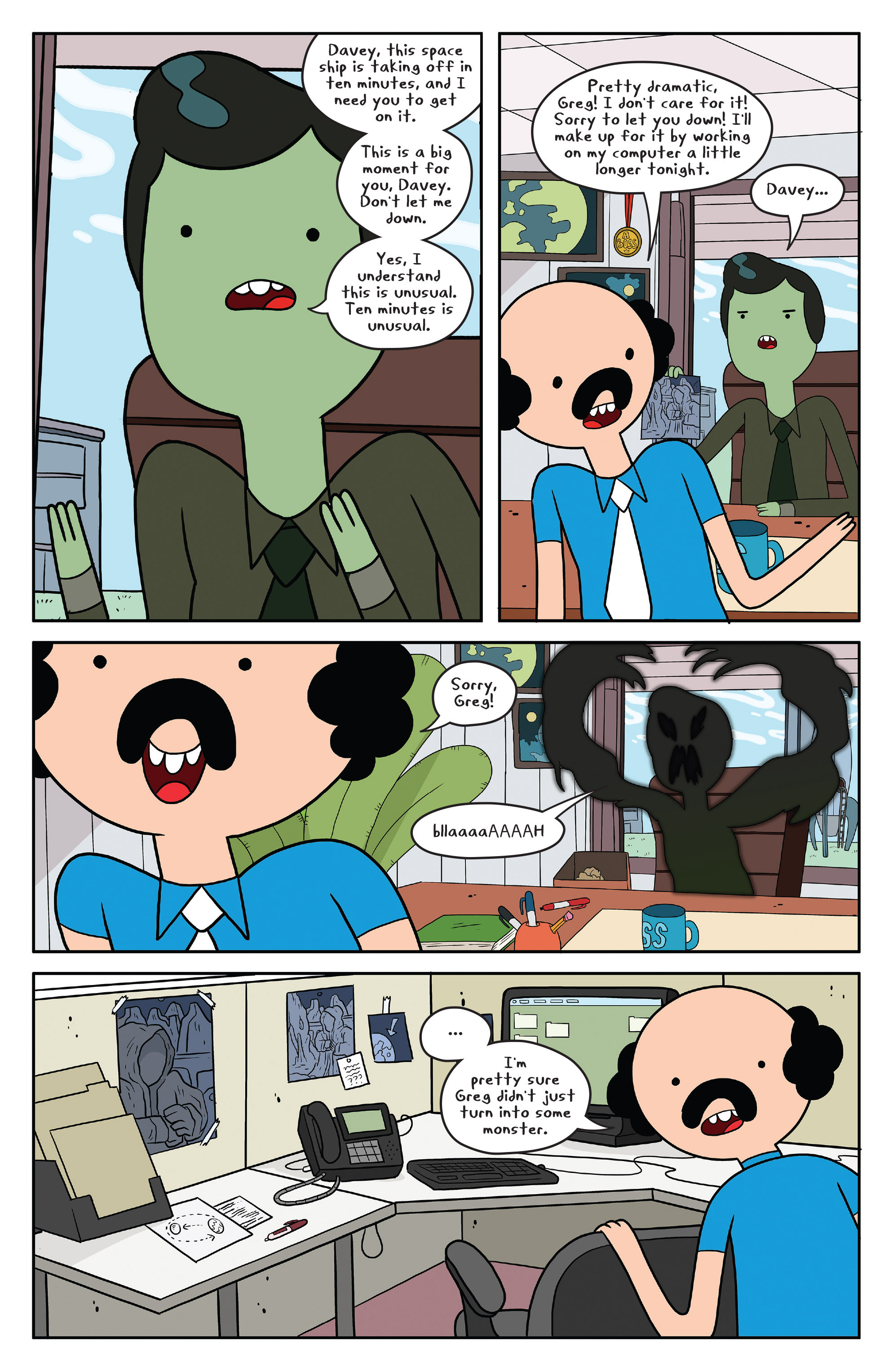 Read online Adventure Time comic -  Issue #50 - 21