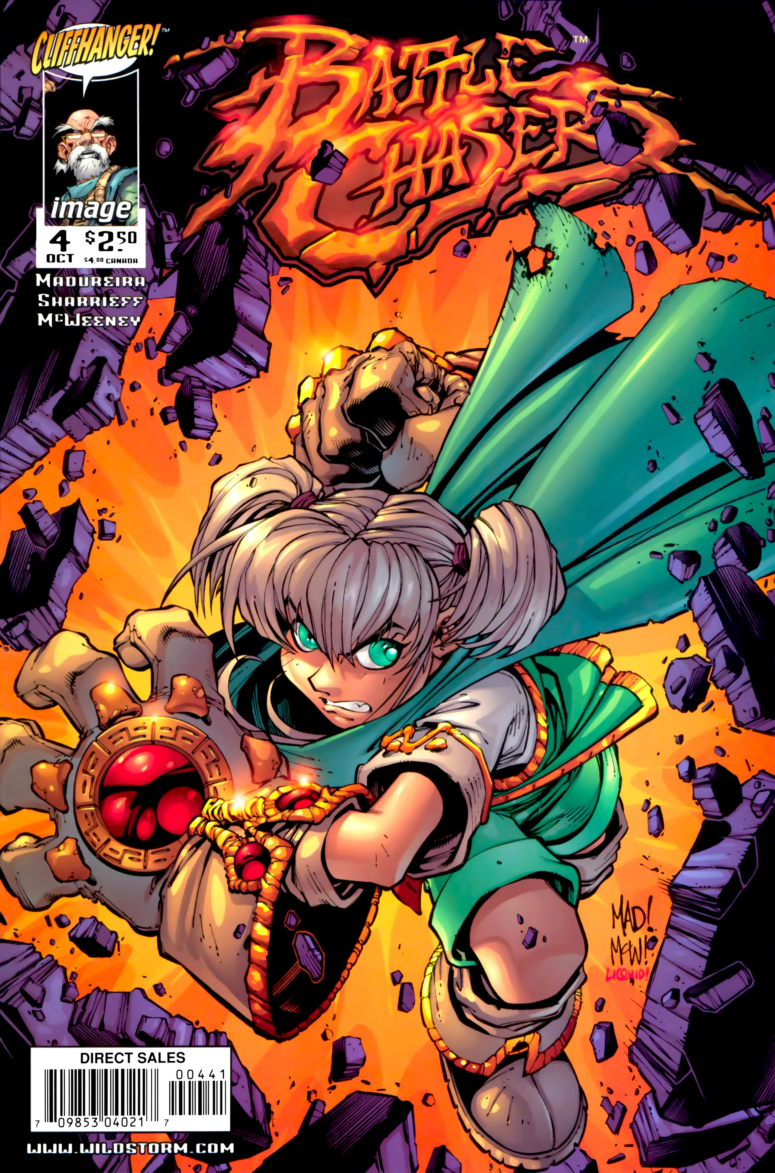 Battle Chasers (1998) 4 Page 1