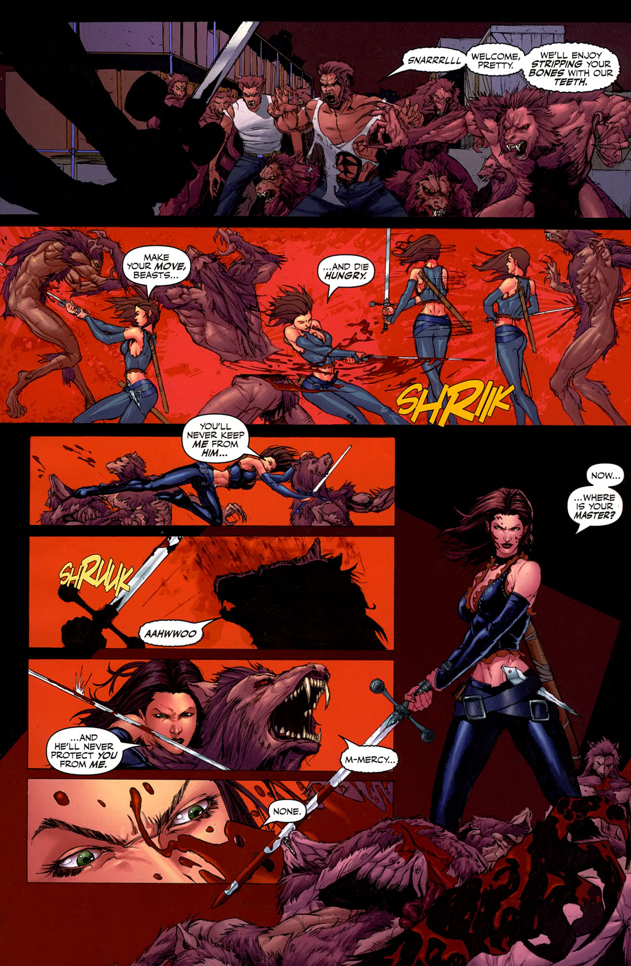 Read online Eva: Daughter of the Dragon comic -  Issue # Full - 19