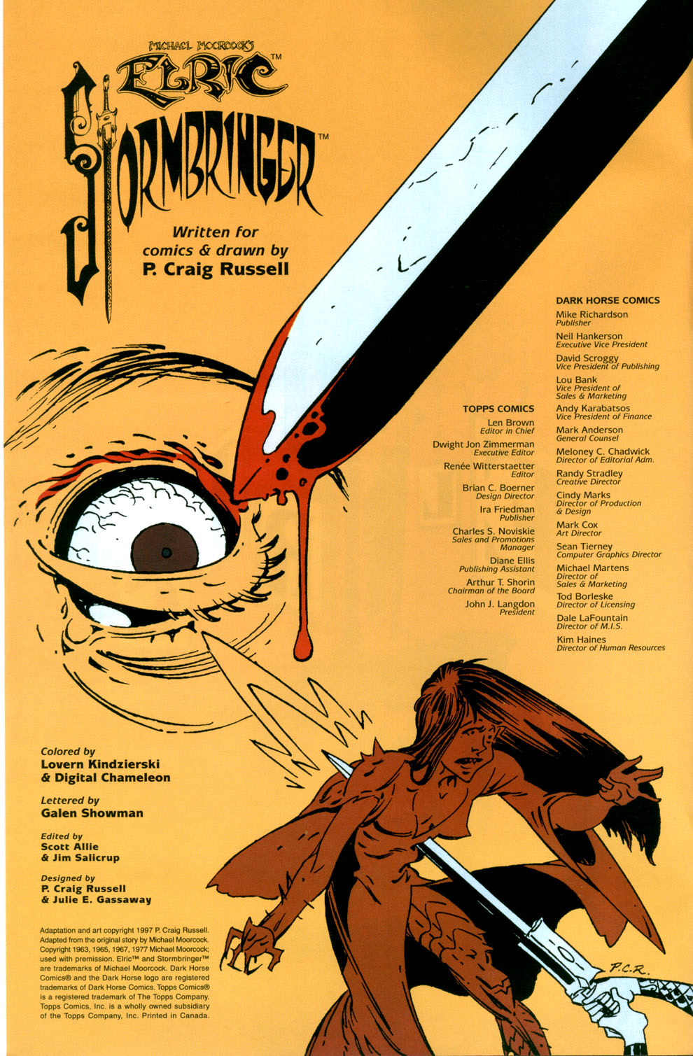 Read online Elric: Stormbringer comic -  Issue #7 - 2