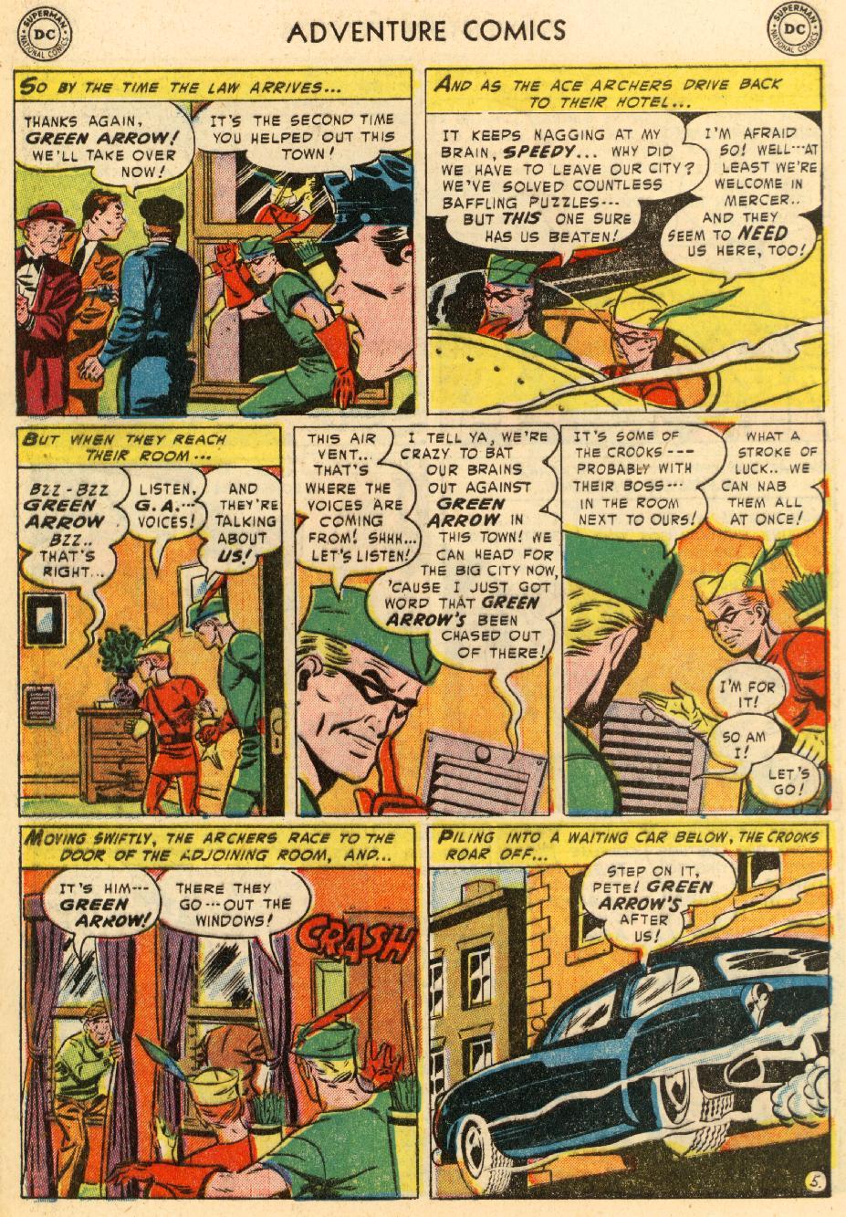 Read online Adventure Comics (1938) comic -  Issue #195 - 38