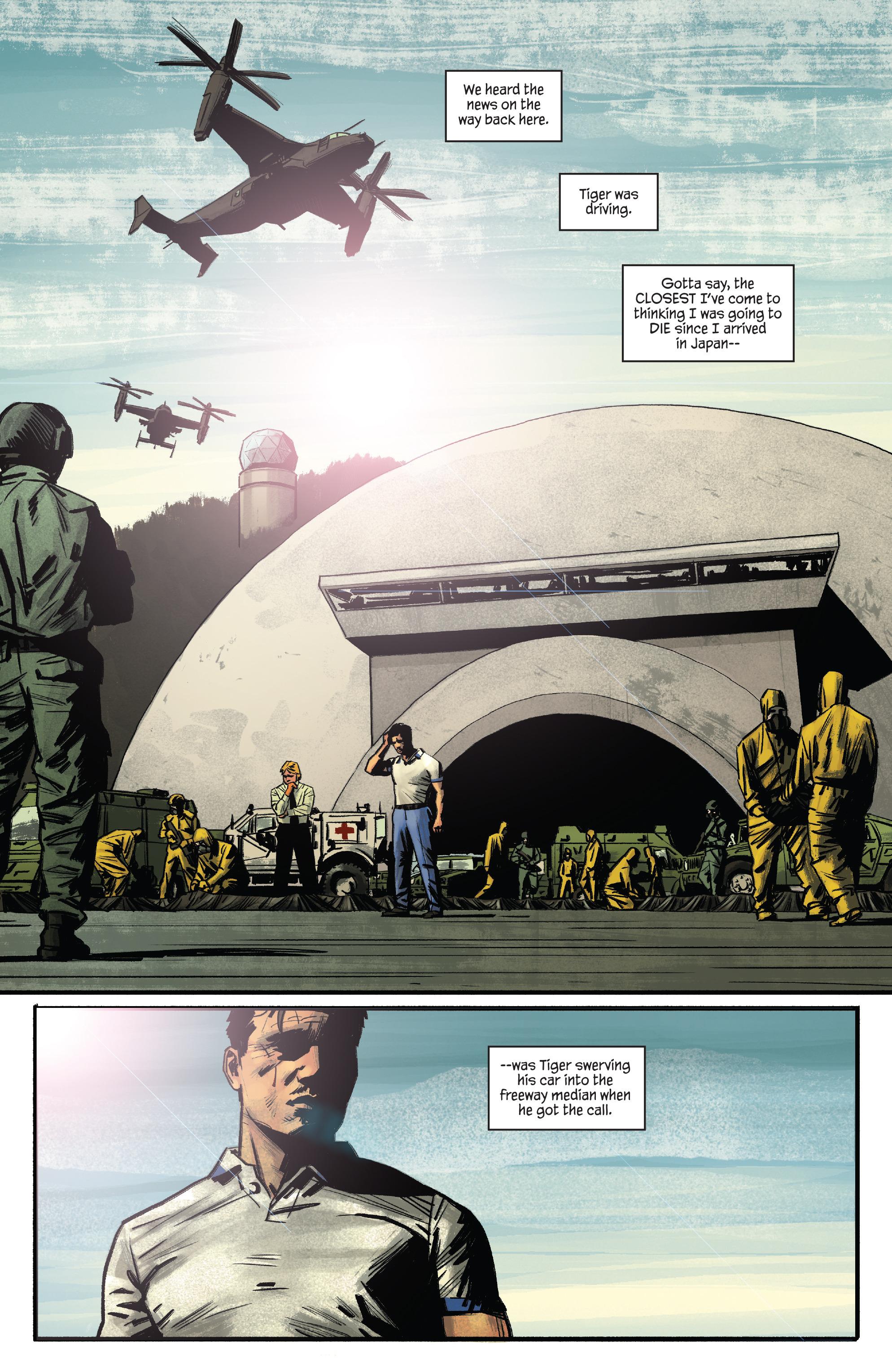 Read online James Bond: Felix Leiter comic -  Issue #4 - 7