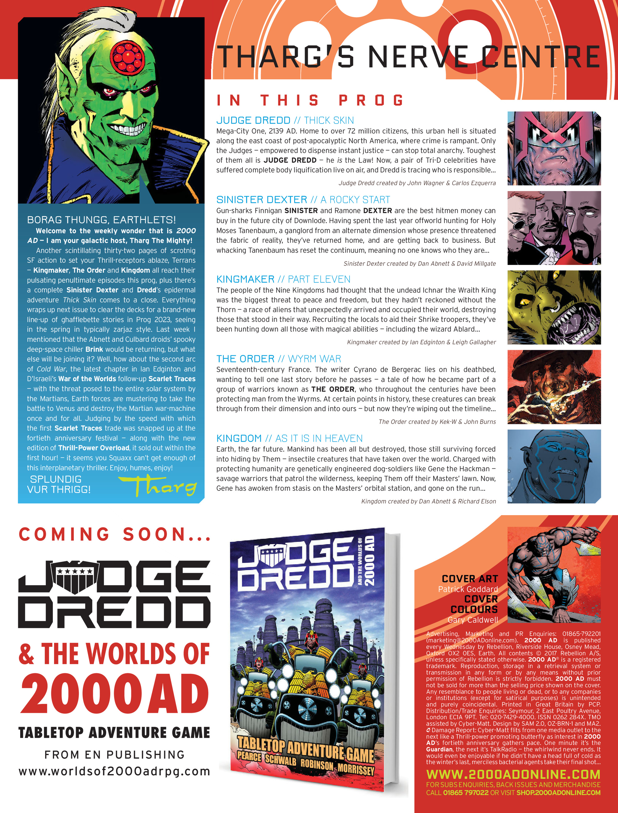 Read online 2000 AD comic -  Issue #2021 - 2