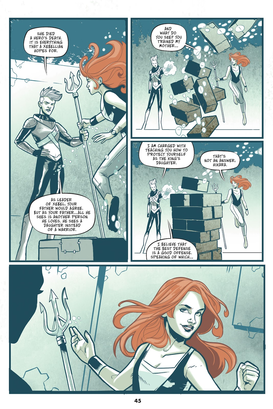 Read online Mera: Tidebreaker comic -  Issue # TPB (Part 1) - 45