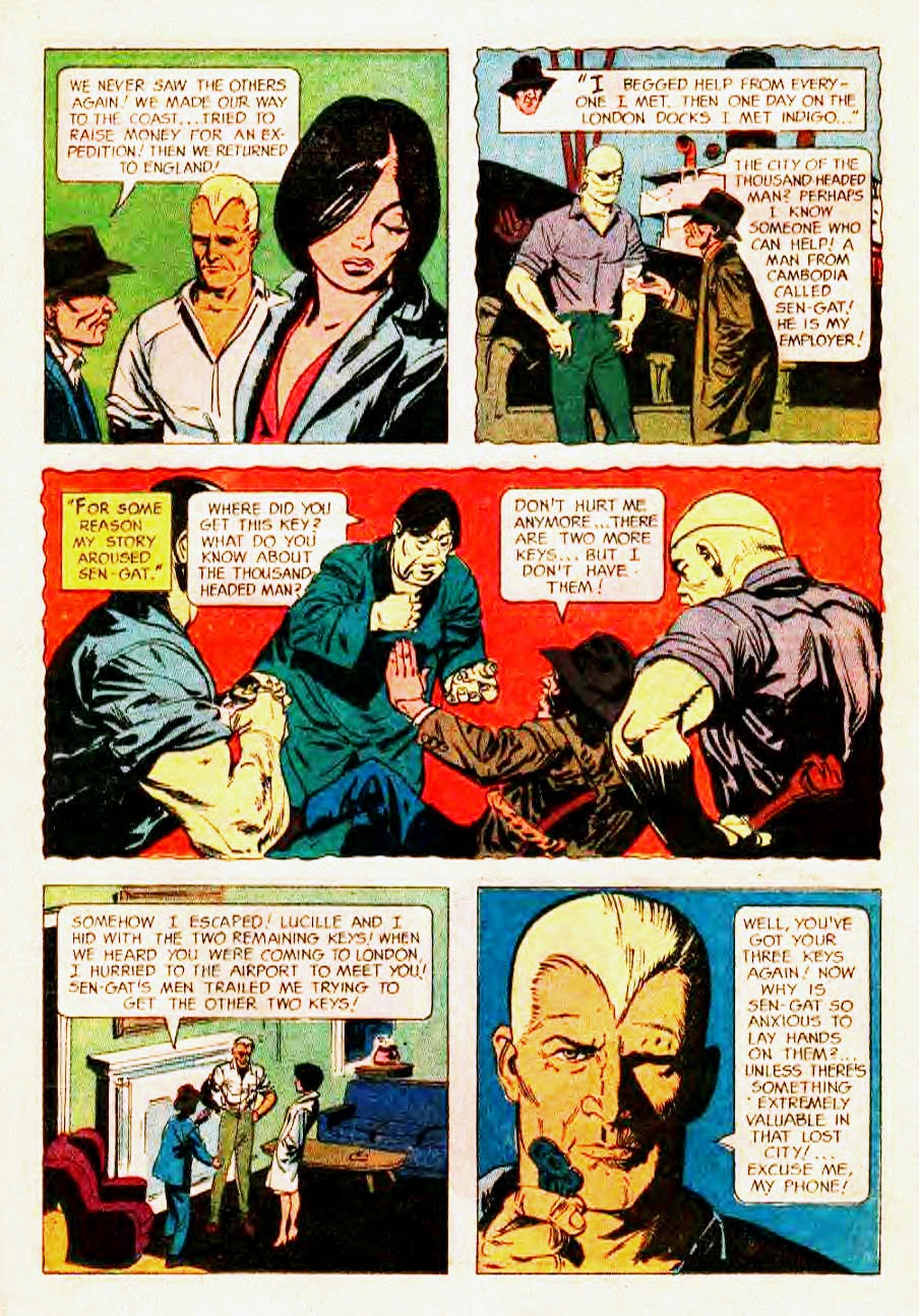 Read online Doc Savage (1966) comic -  Issue # Full - 17