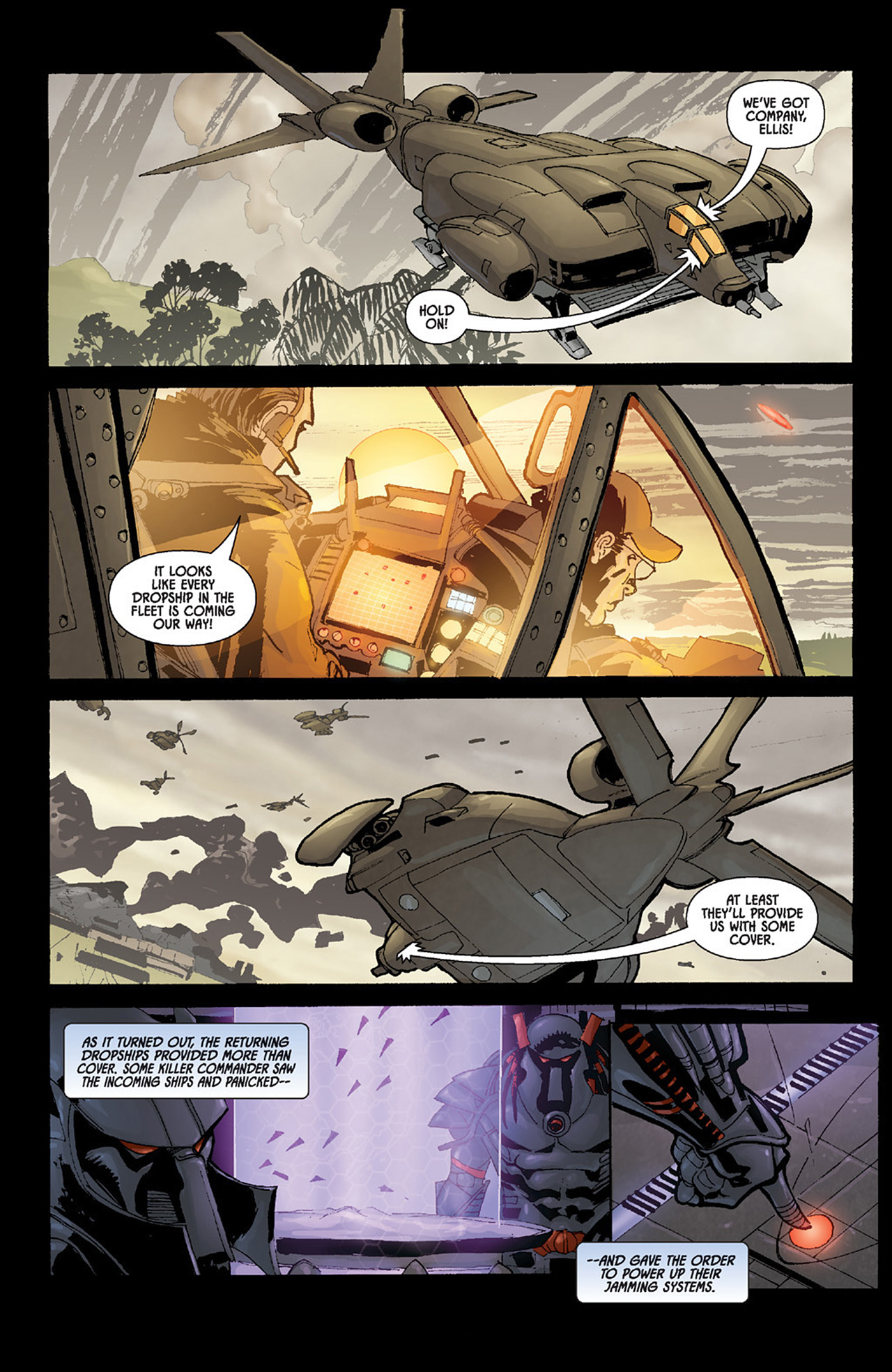 Read online Aliens vs. Predator: Three World War comic -  Issue #6 - 15