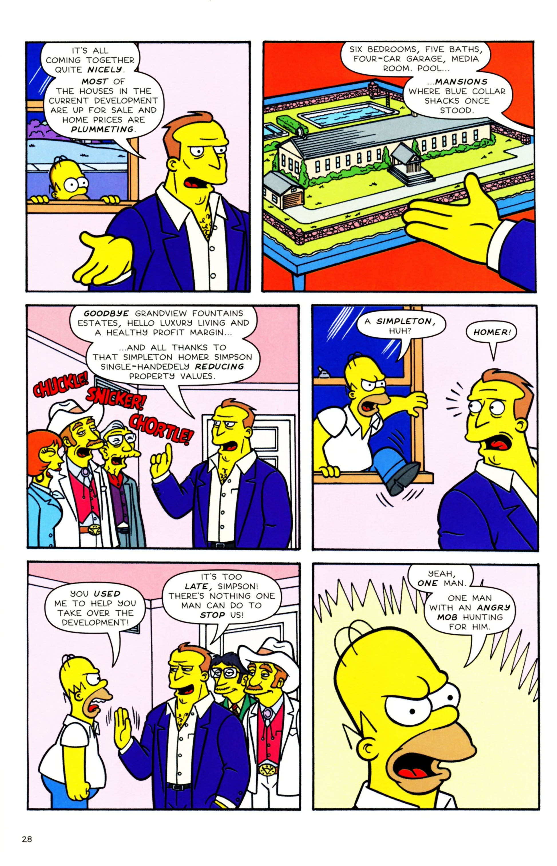 Read online Simpsons Comics comic -  Issue #158 - 24