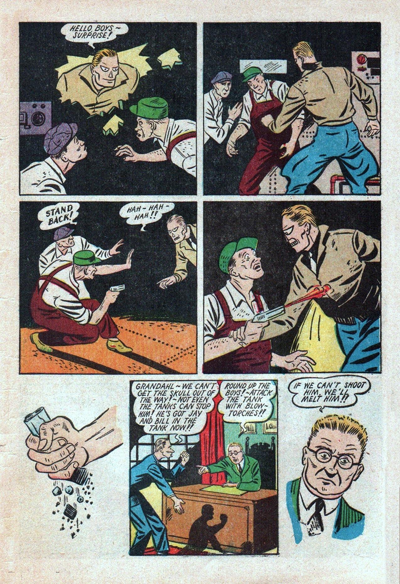 Read online Amazing Man Comics comic -  Issue #20 - 62