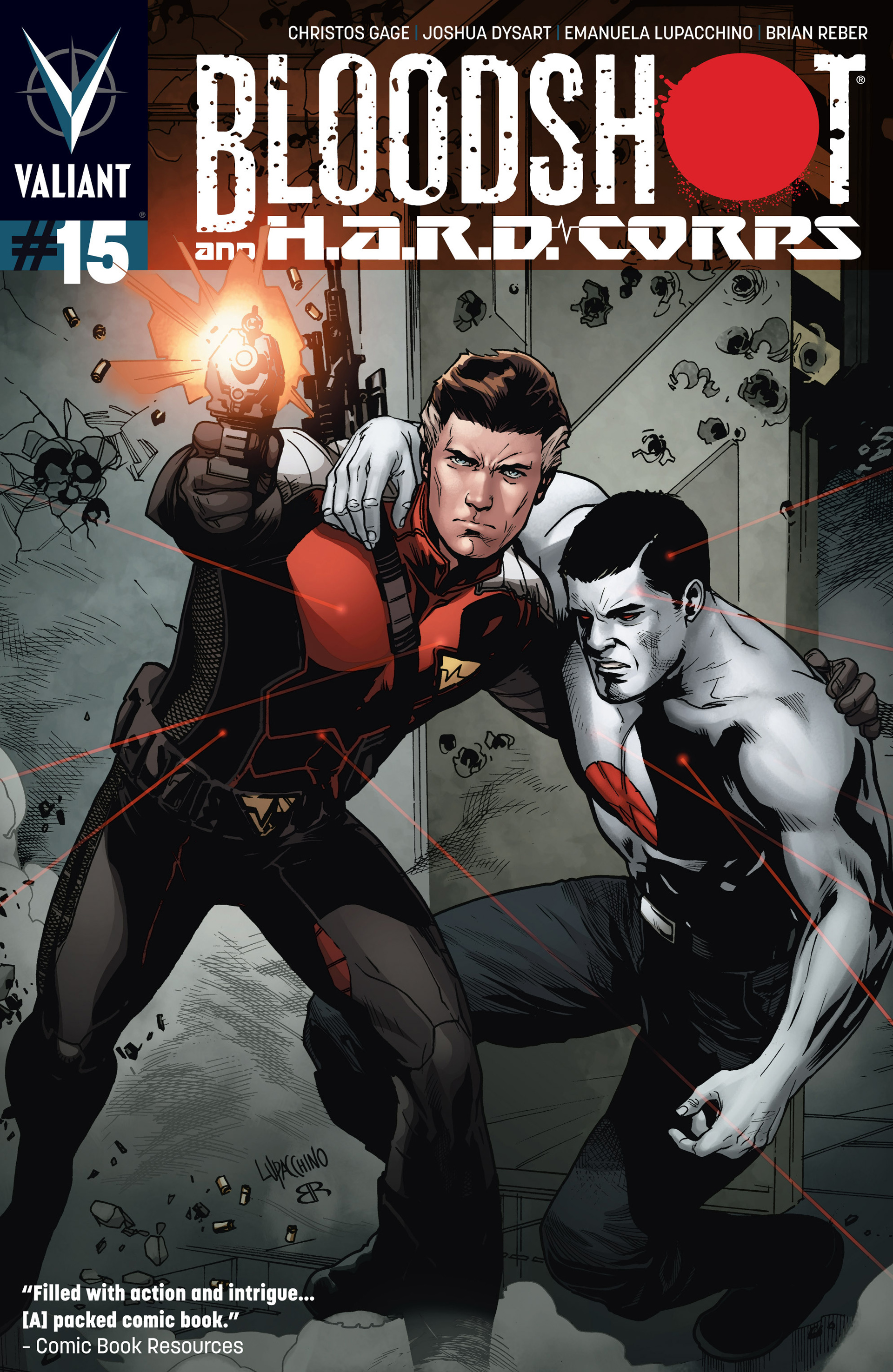 Read online Bloodshot and H.A.R.D.Corps comic -  Issue #15 - 1