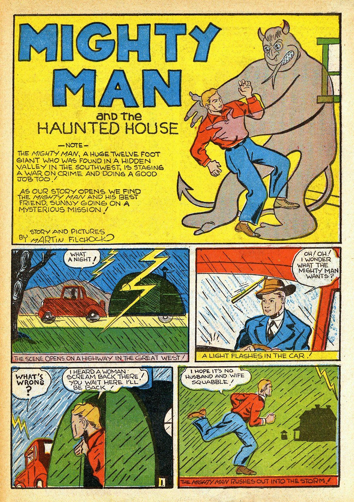 Read online Amazing Man Comics comic -  Issue #10 - 52