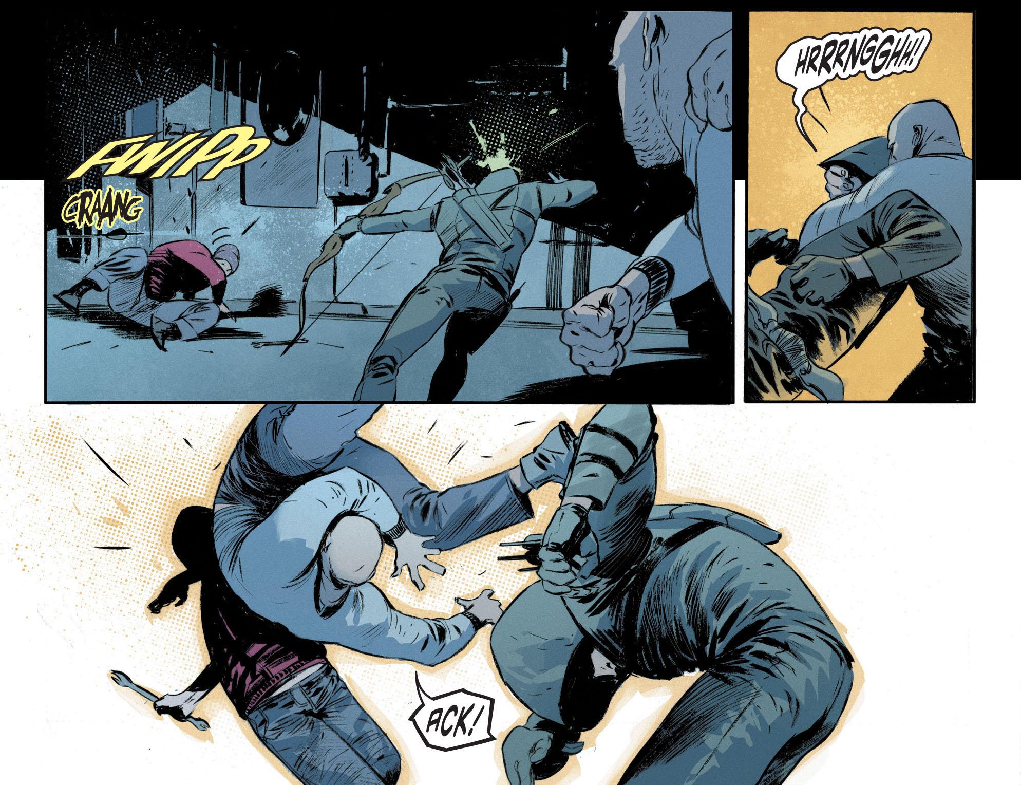 Read online Arrow [II] comic -  Issue #12 - 12