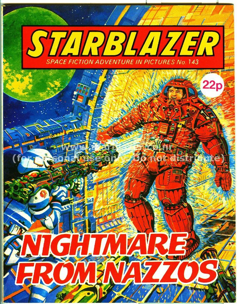 Starblazer issue 143 - Page 1