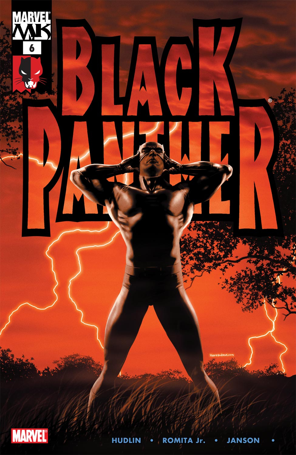 Black Panther (2005) issue 6 - Page 1