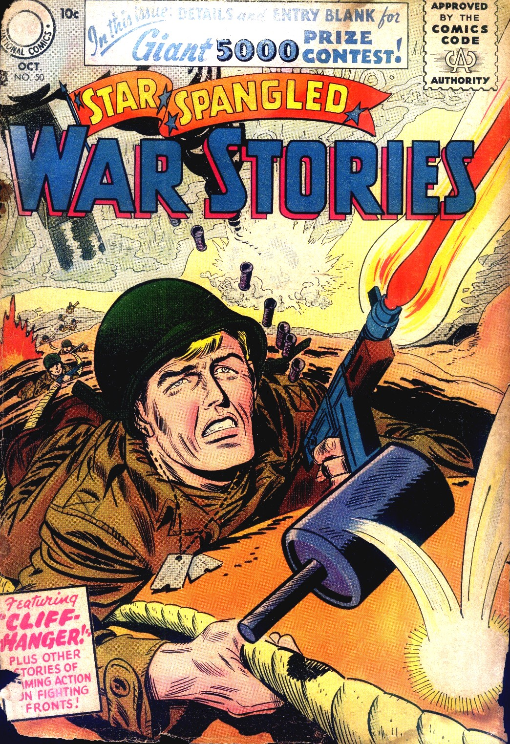 Star Spangled War Stories (1952) issue 50 - Page 1
