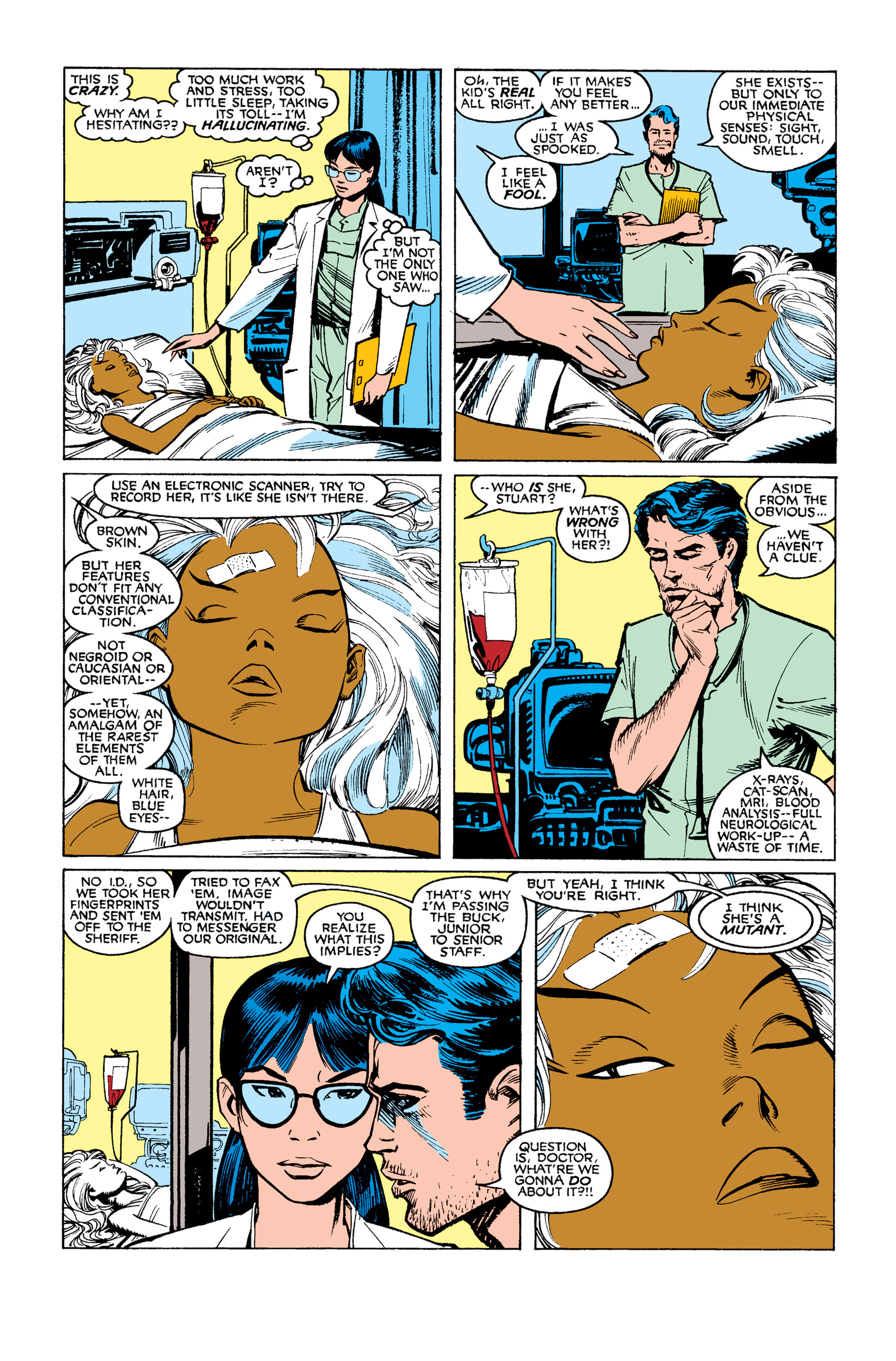 Read online Uncanny X-Men (1963) comic -  Issue #253 - 9