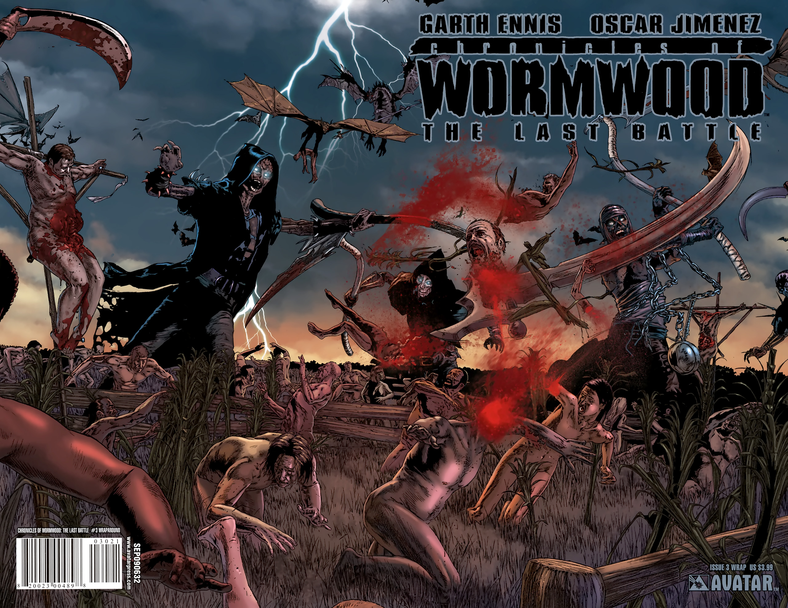 Read online Chronicles of Wormwood: The Last Battle comic -  Issue #3 - 2