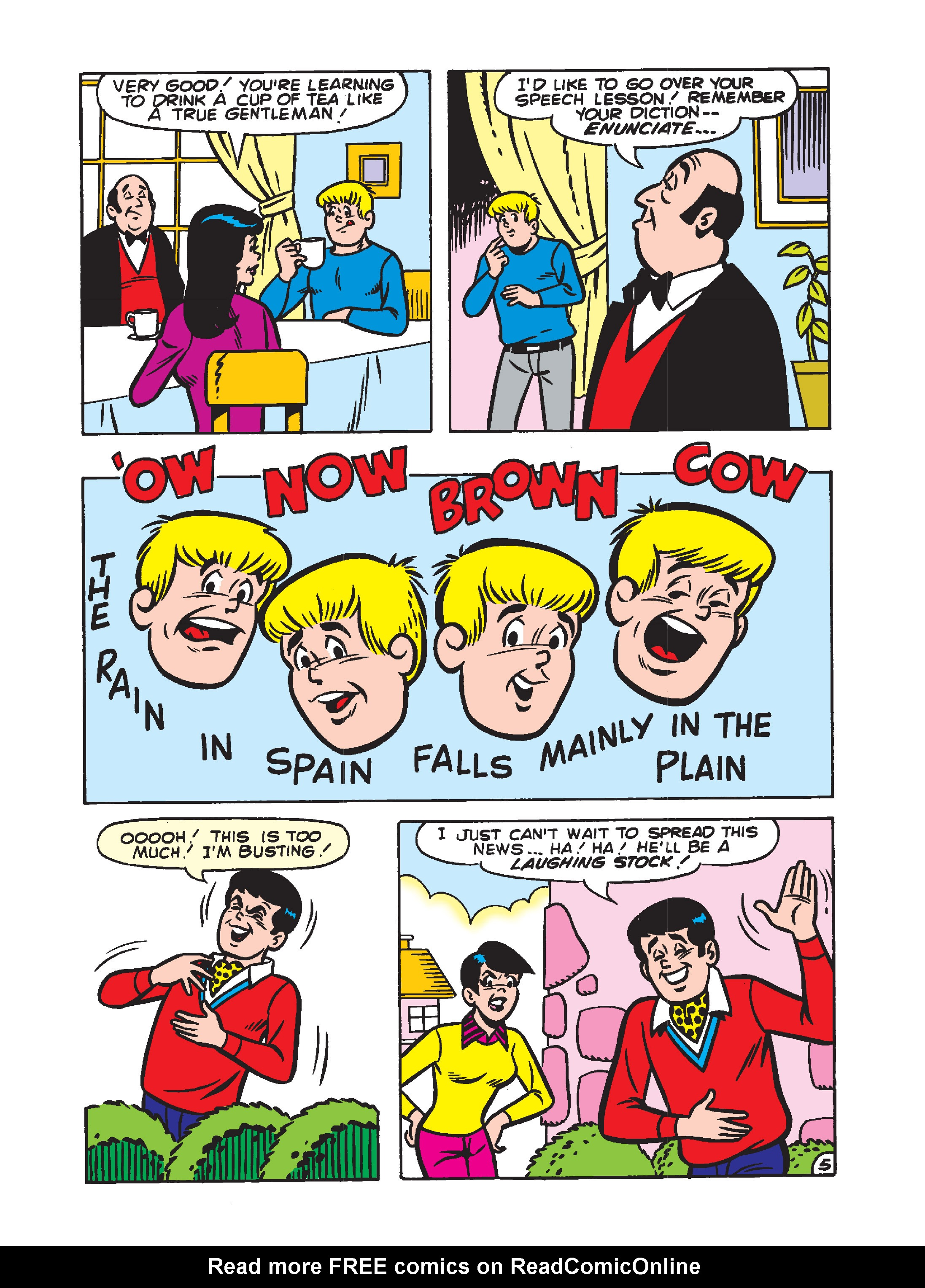 Read online Archie's Funhouse Double Digest comic -  Issue #1 - 82