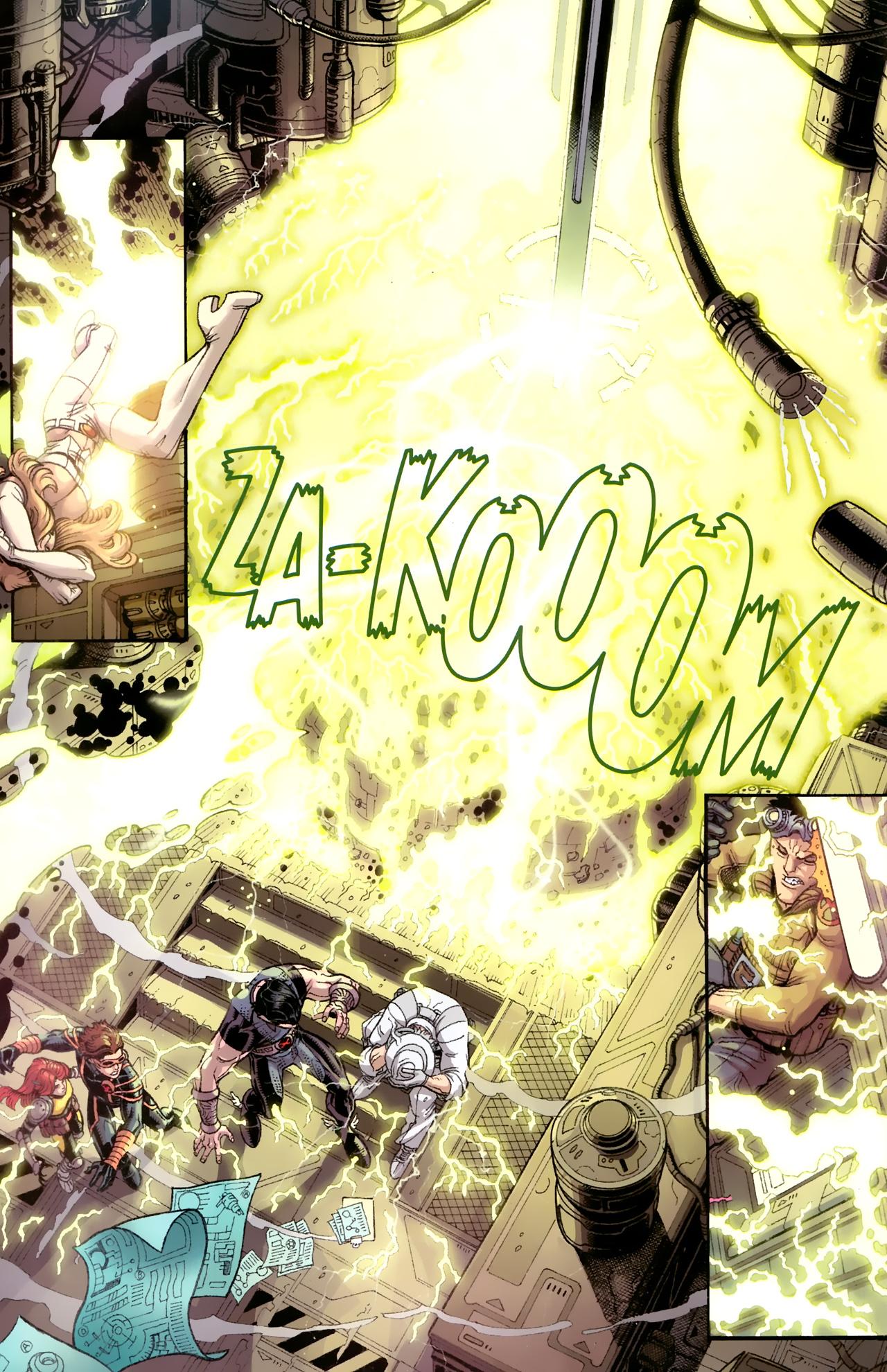 Read online Uncanny X-Men (1963) comic -  Issue # _Annual 3 (2011) - 7