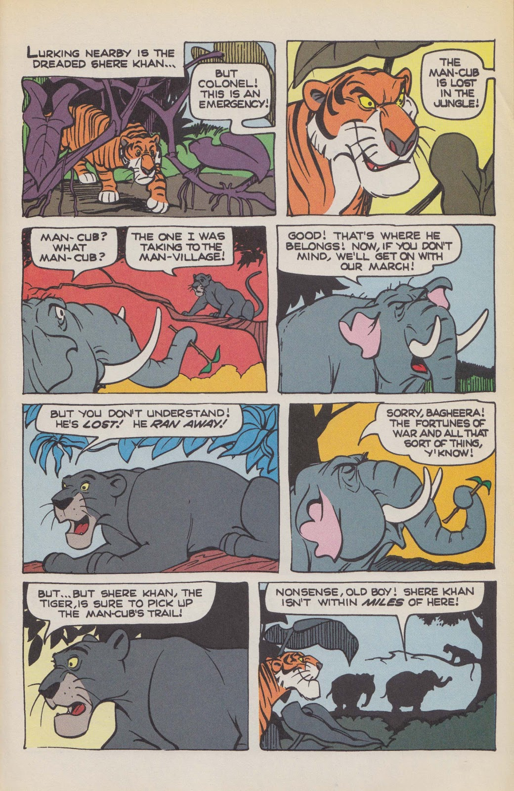 Read online The Jungle Book comic -  Issue # Full - 43