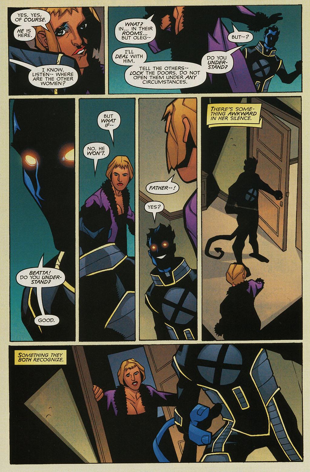 Read online Nightcrawler (2002) comic -  Issue #3 - 19
